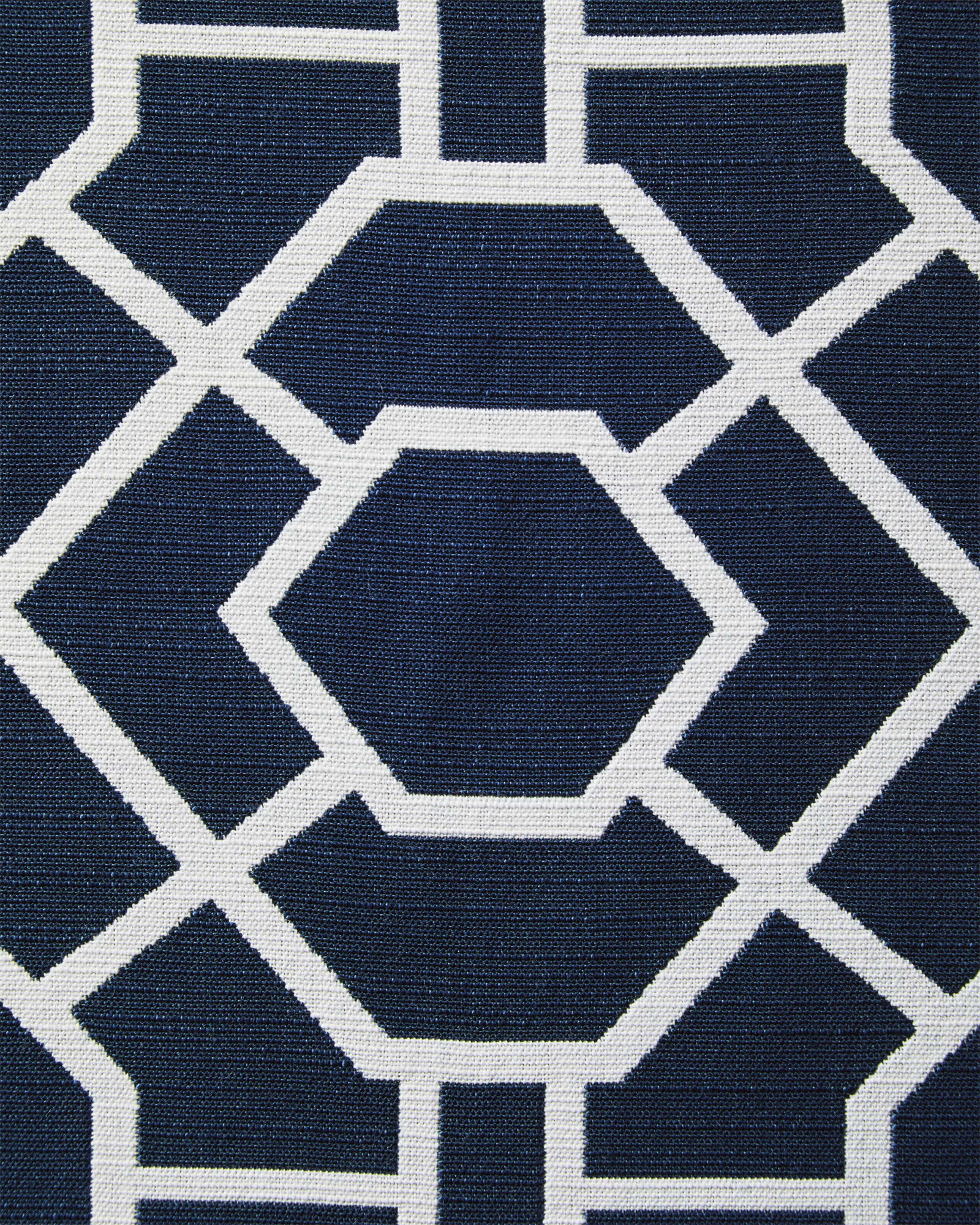 Perennials® Trellis - Navy/White,