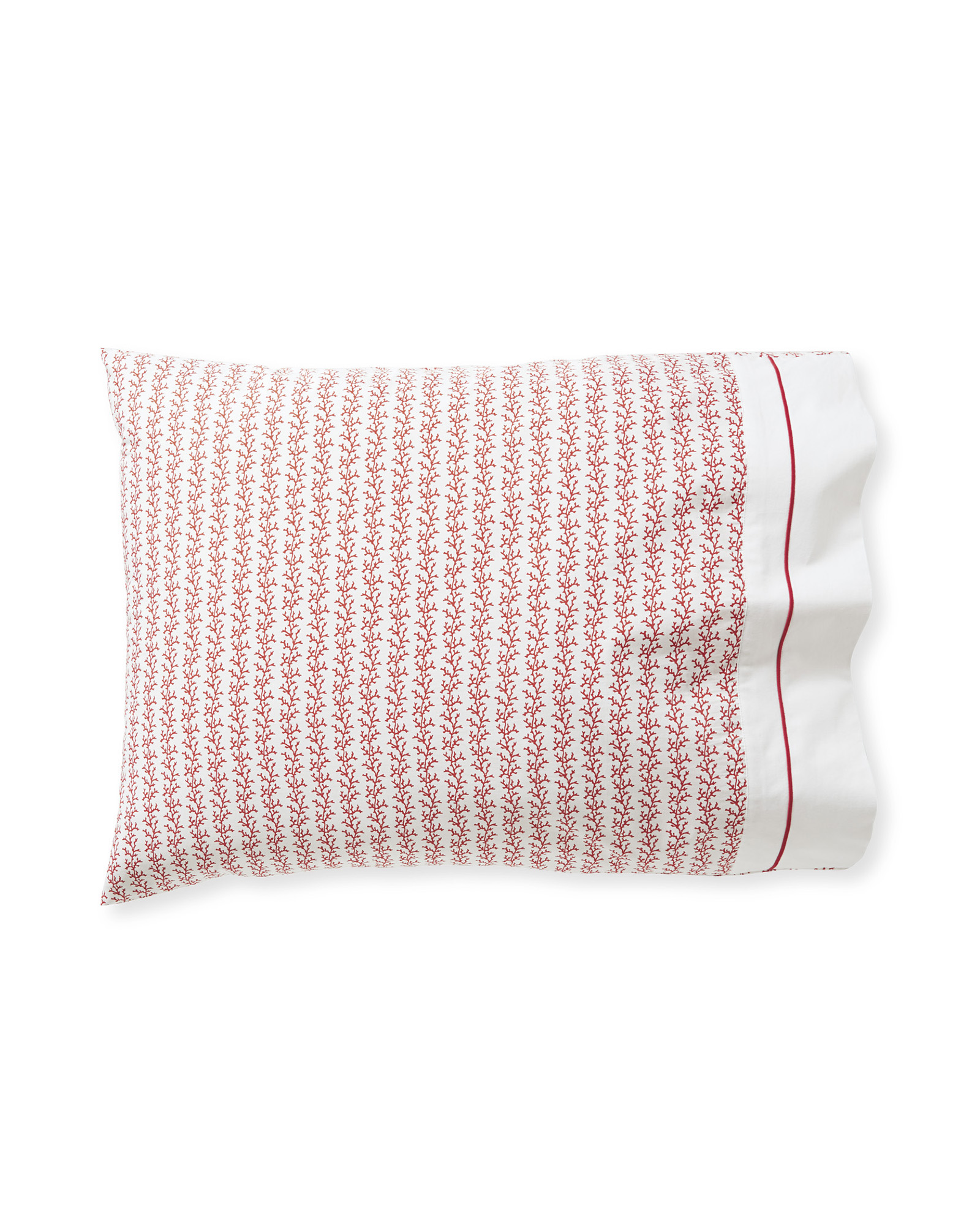 Beach Bay Pillowcases (Set of 2), Papaya