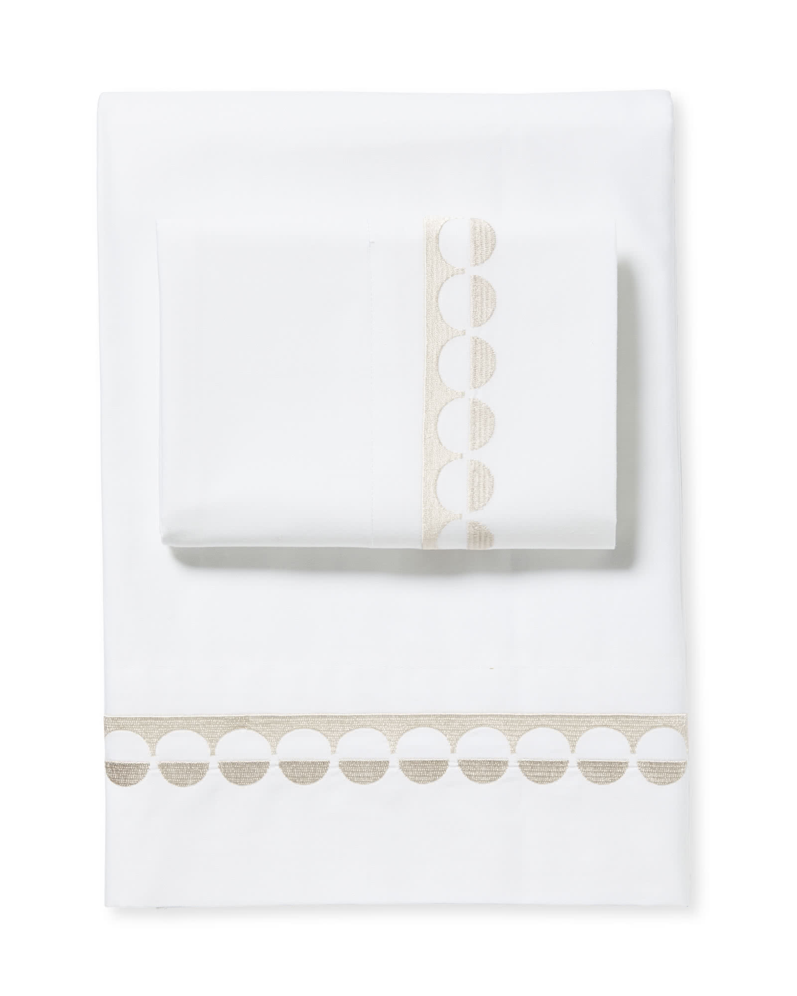 Oceanside Sheet Set, Sand