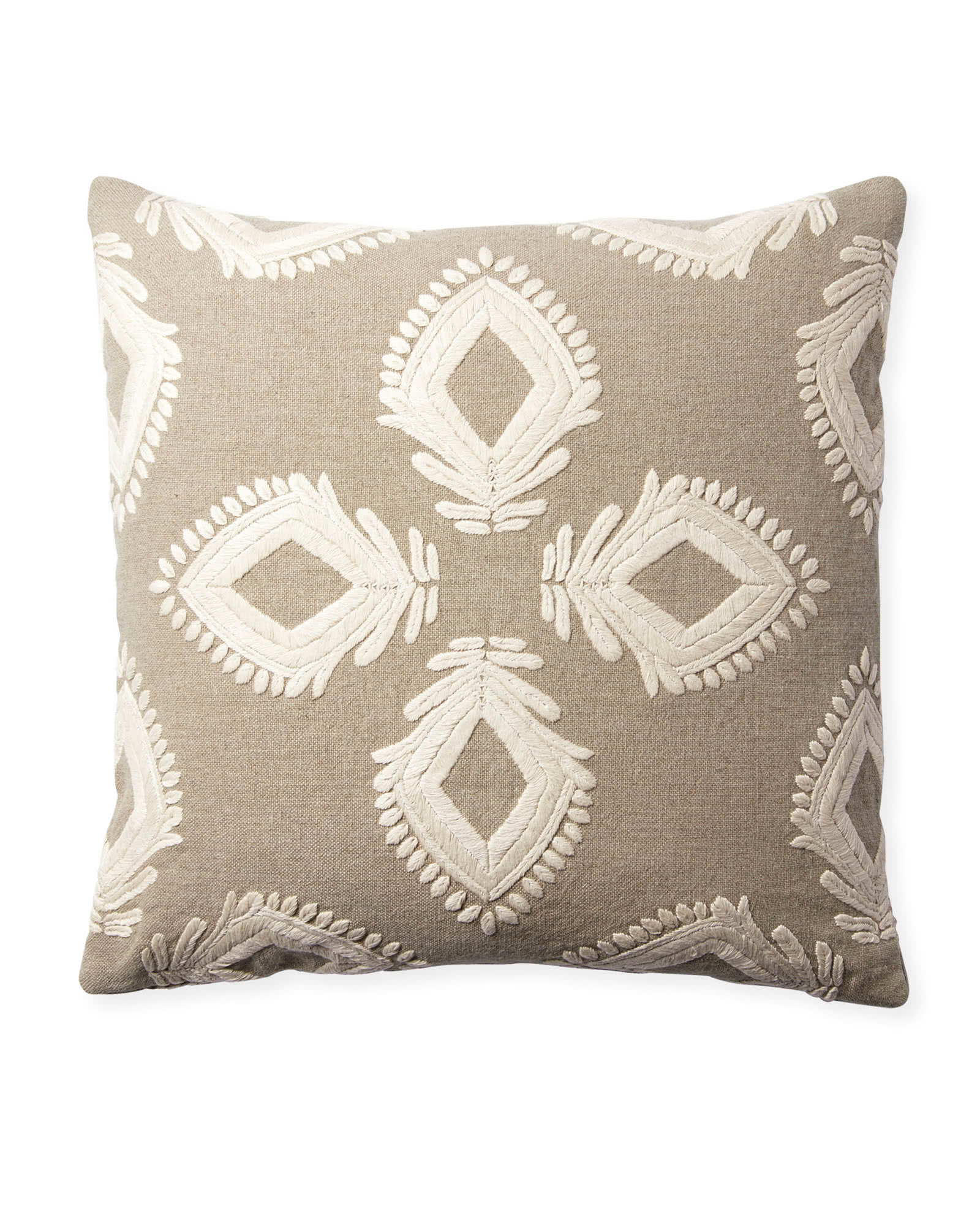 Leighton Pillow Cover, Flax
