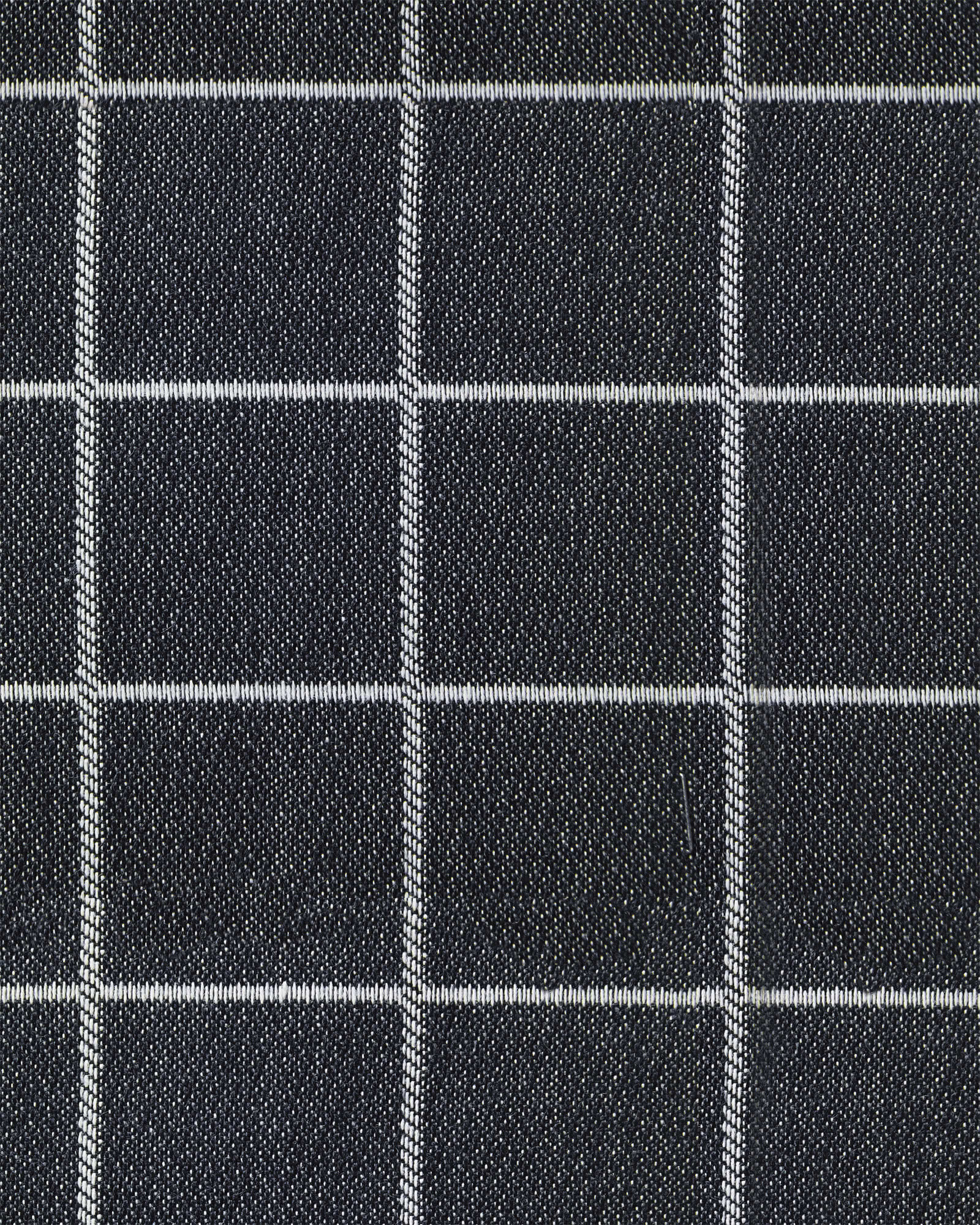 Sunbrella® Performance Canvas Windowpane Fabric,