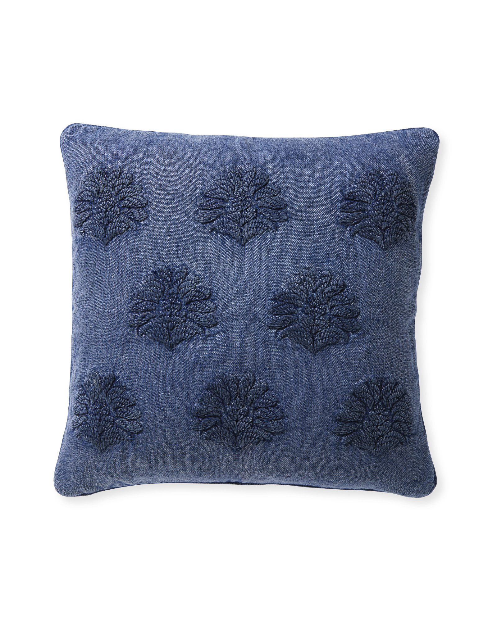 Miramonte Pillow Cover, Vintage Indigo