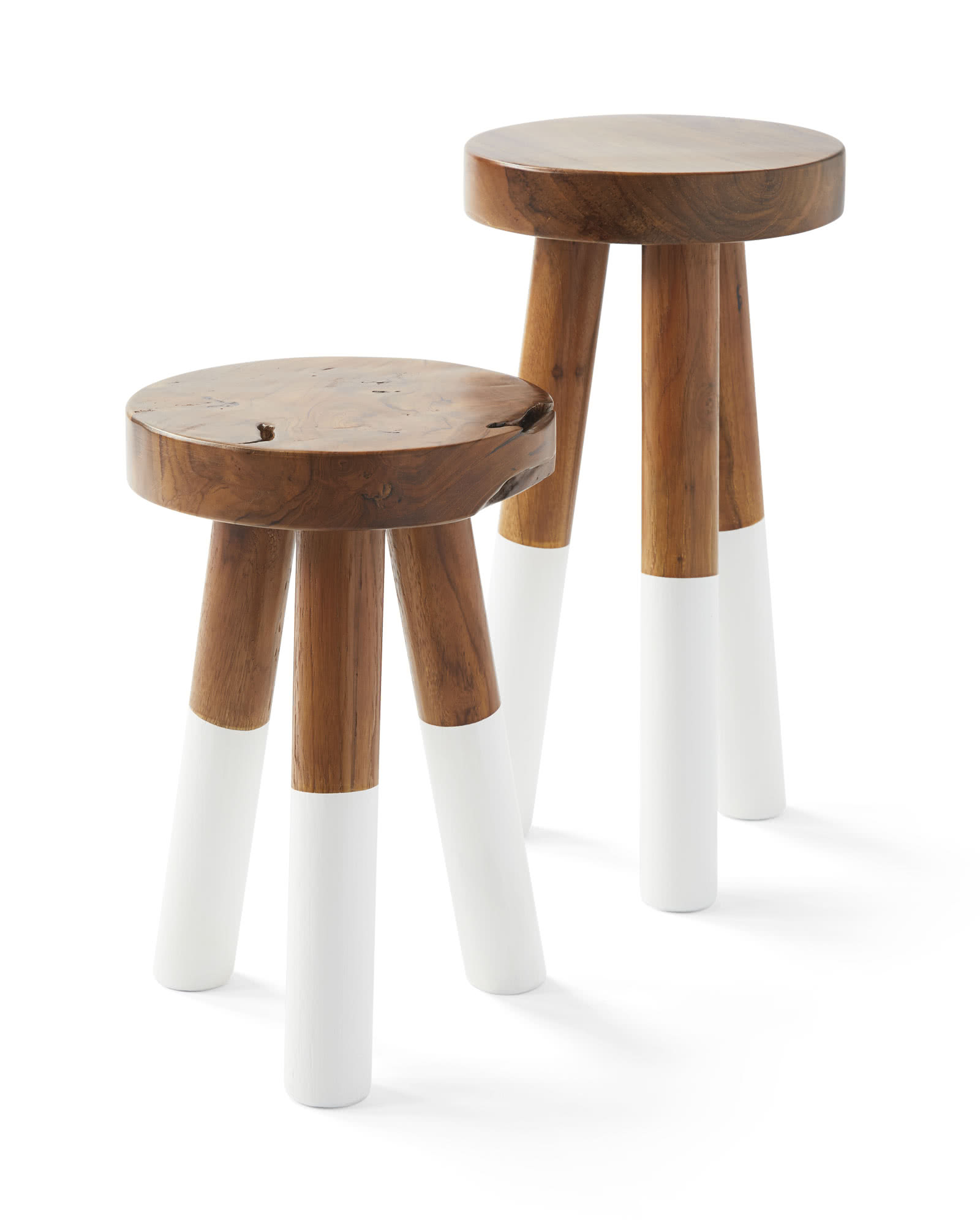 Dip Dyed Stools Serena Lily