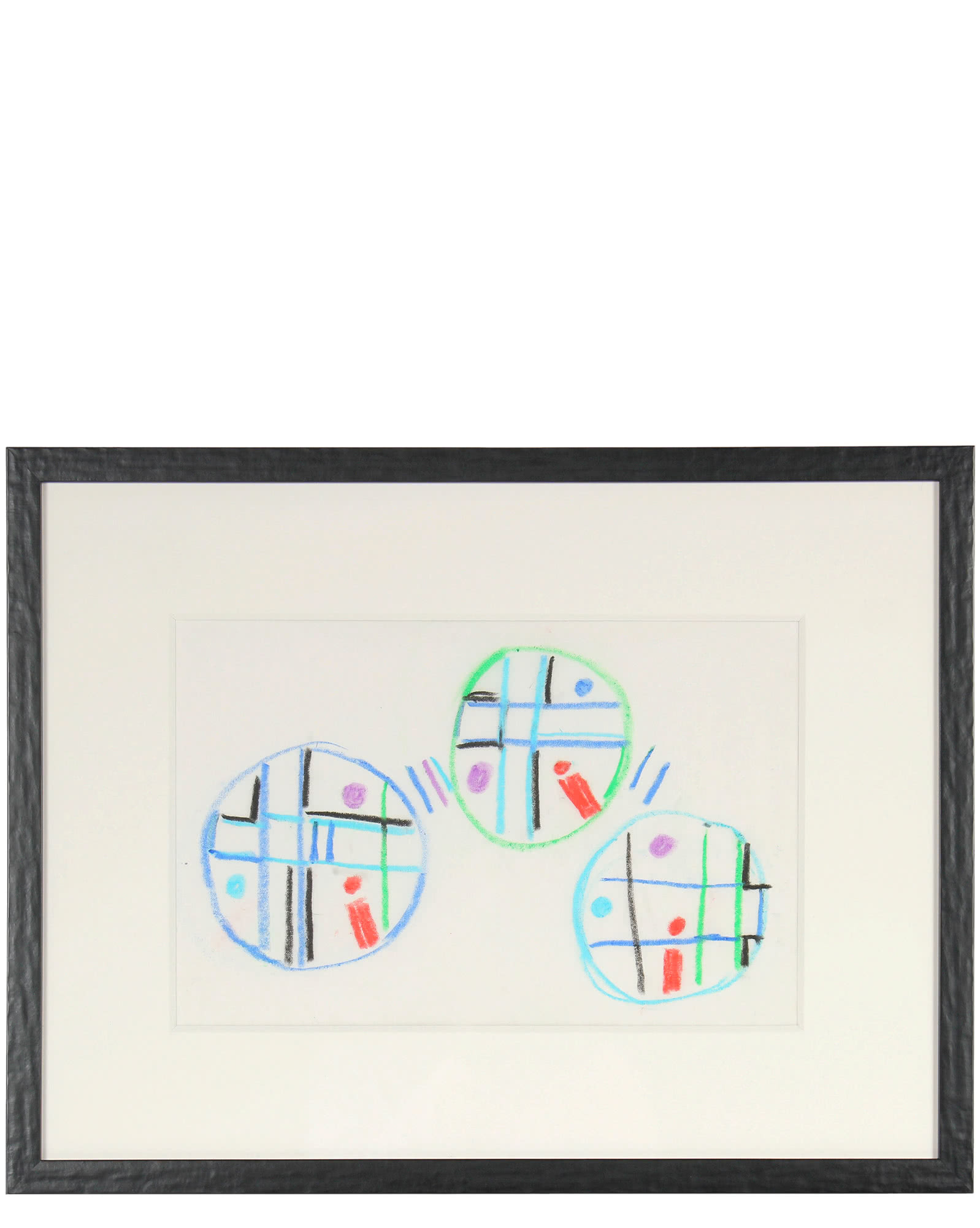 """Trio of Circles in Abstraction"" by Paul W. McCoy,"
