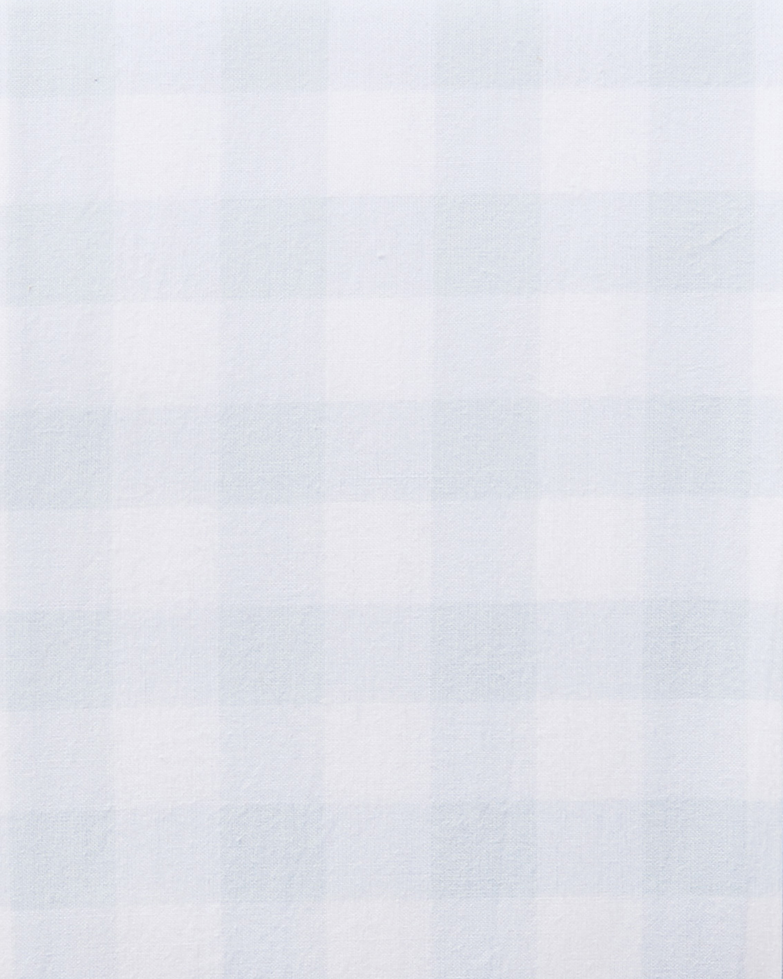 Gingham Sheet Swatch, Sky