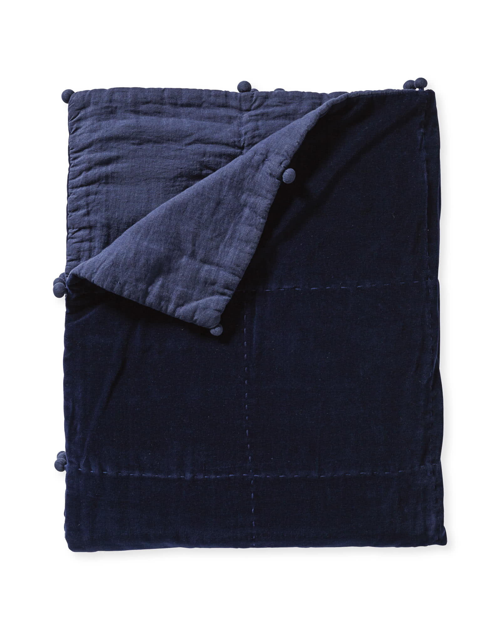 Townsend Coverlet, Navy