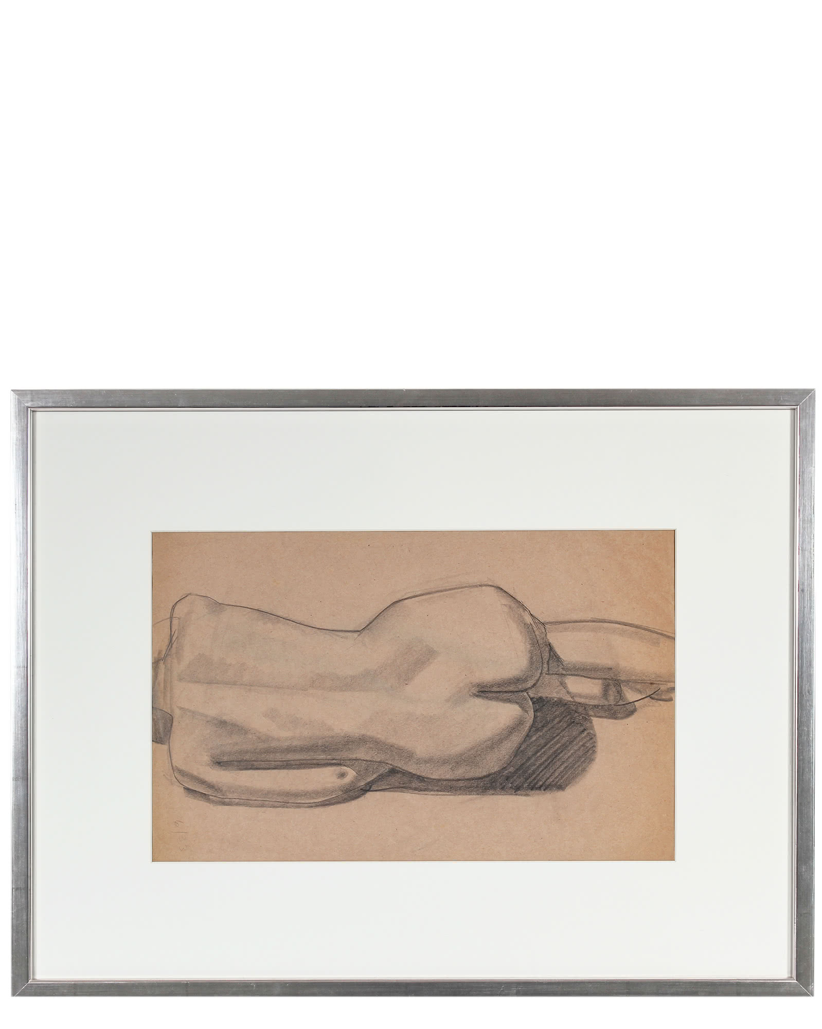 """""""Horizontal Nude"""" by Forrest Hibbits,"""