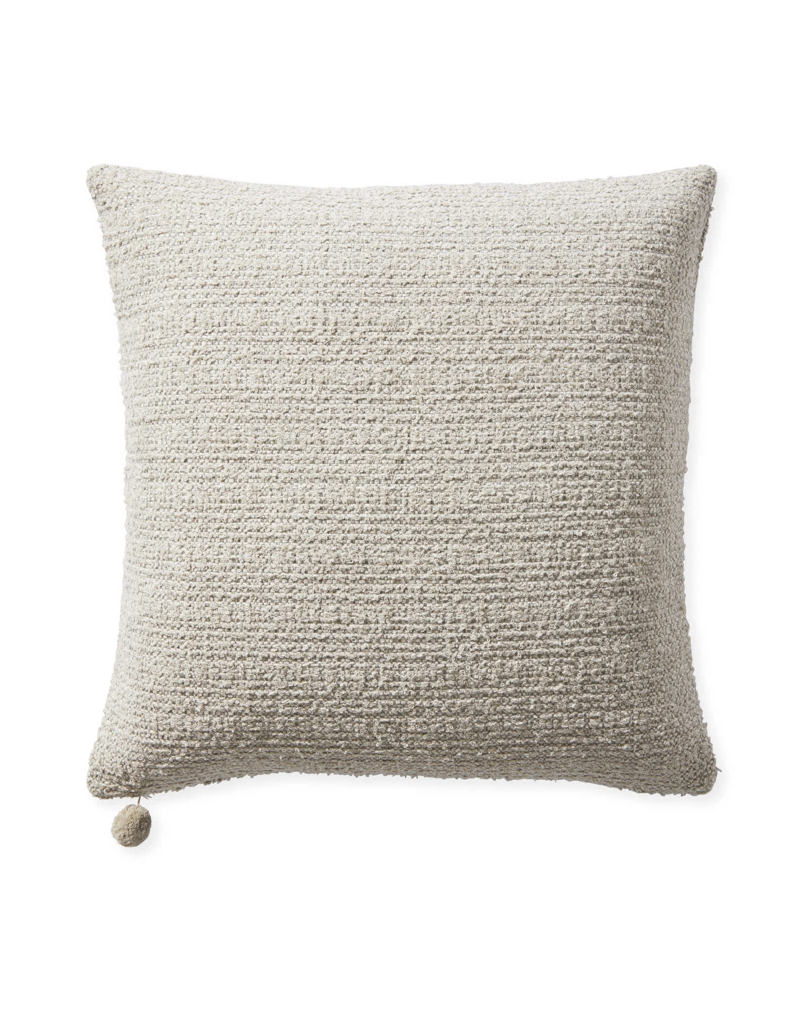 Perennials® Textured Loop Pillow Cover, Sand