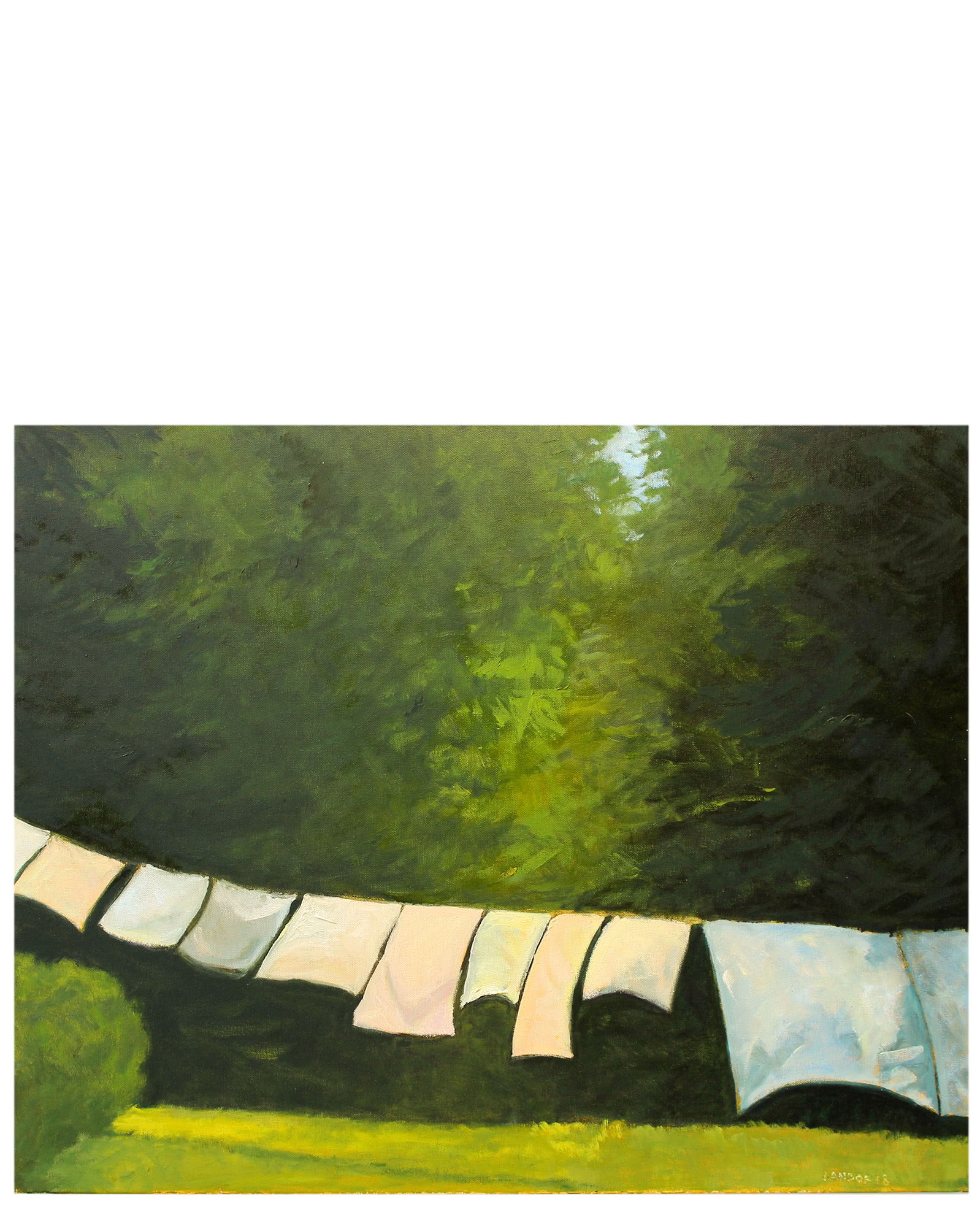 """The Day's Laundry"" by Susan Landor Keegin,"
