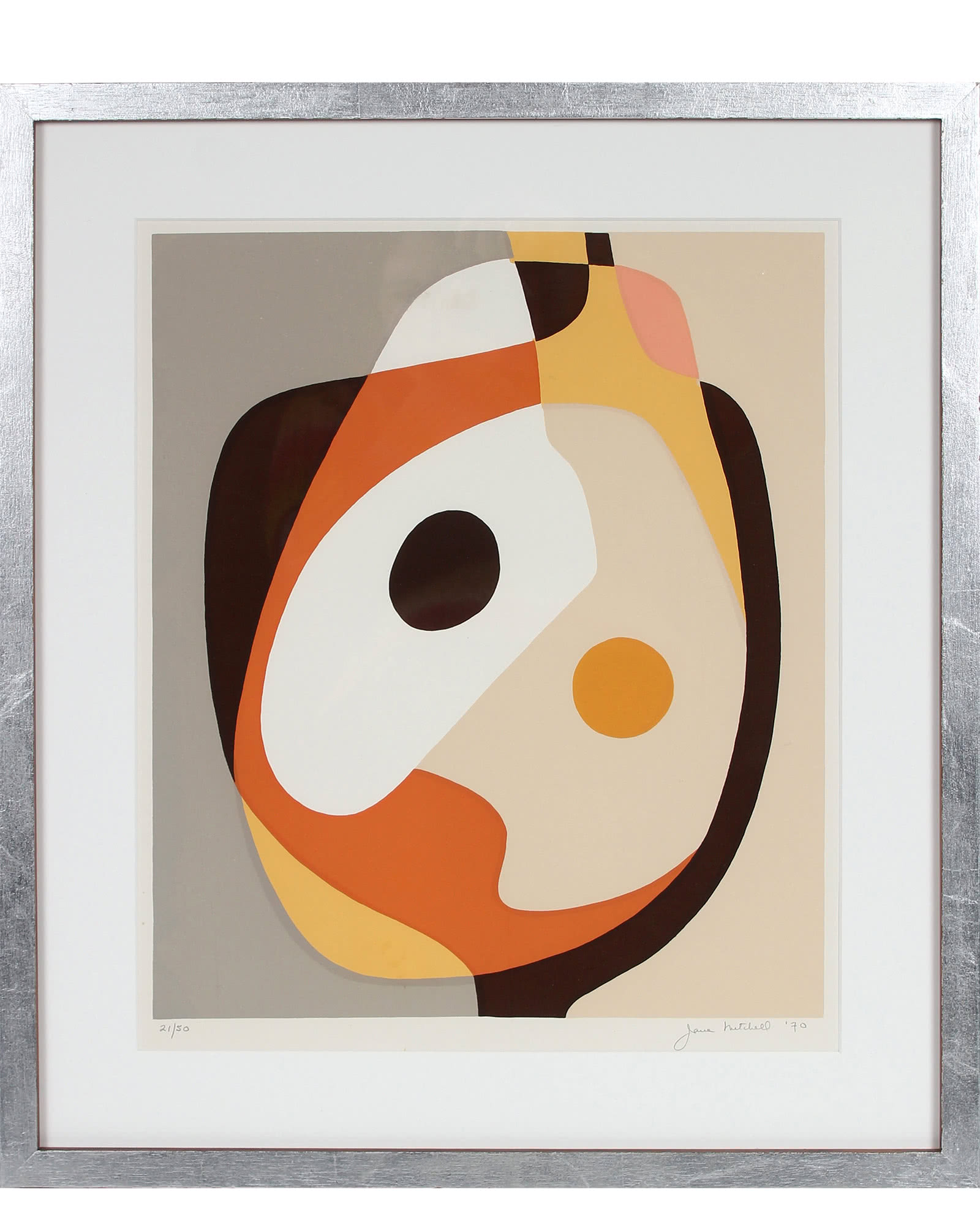 """""""Neutral Abstraction, 1970"""" by Jane Mitchell,"""
