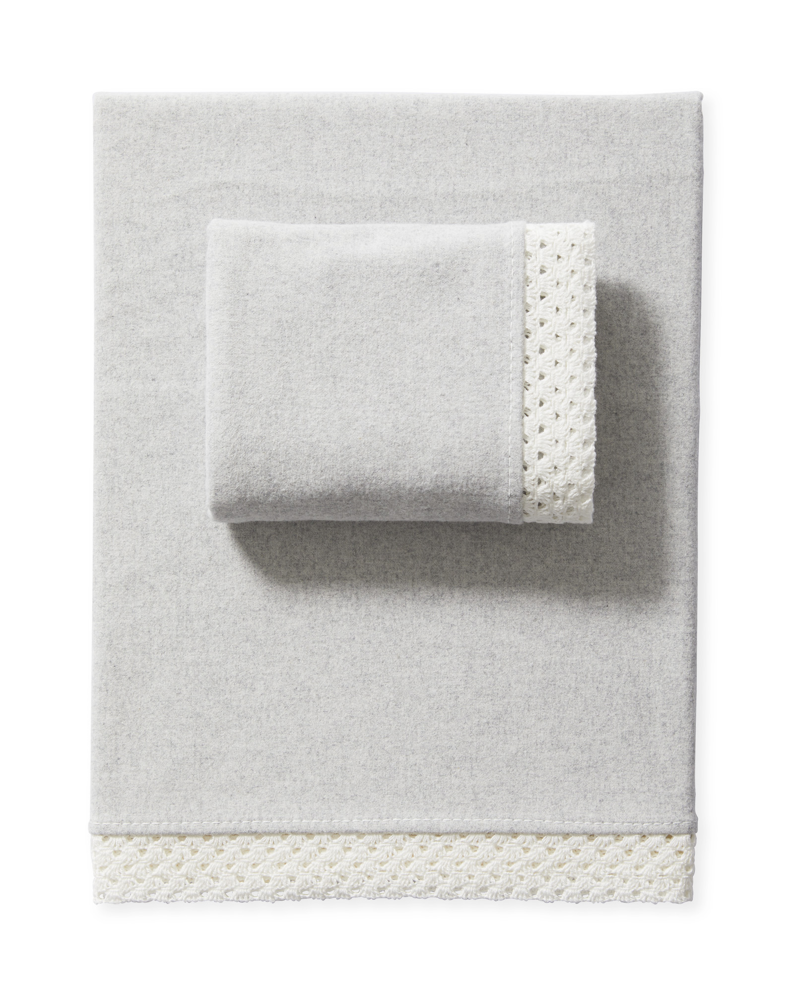 Aberdeen Flannel Sheet Set, Fog