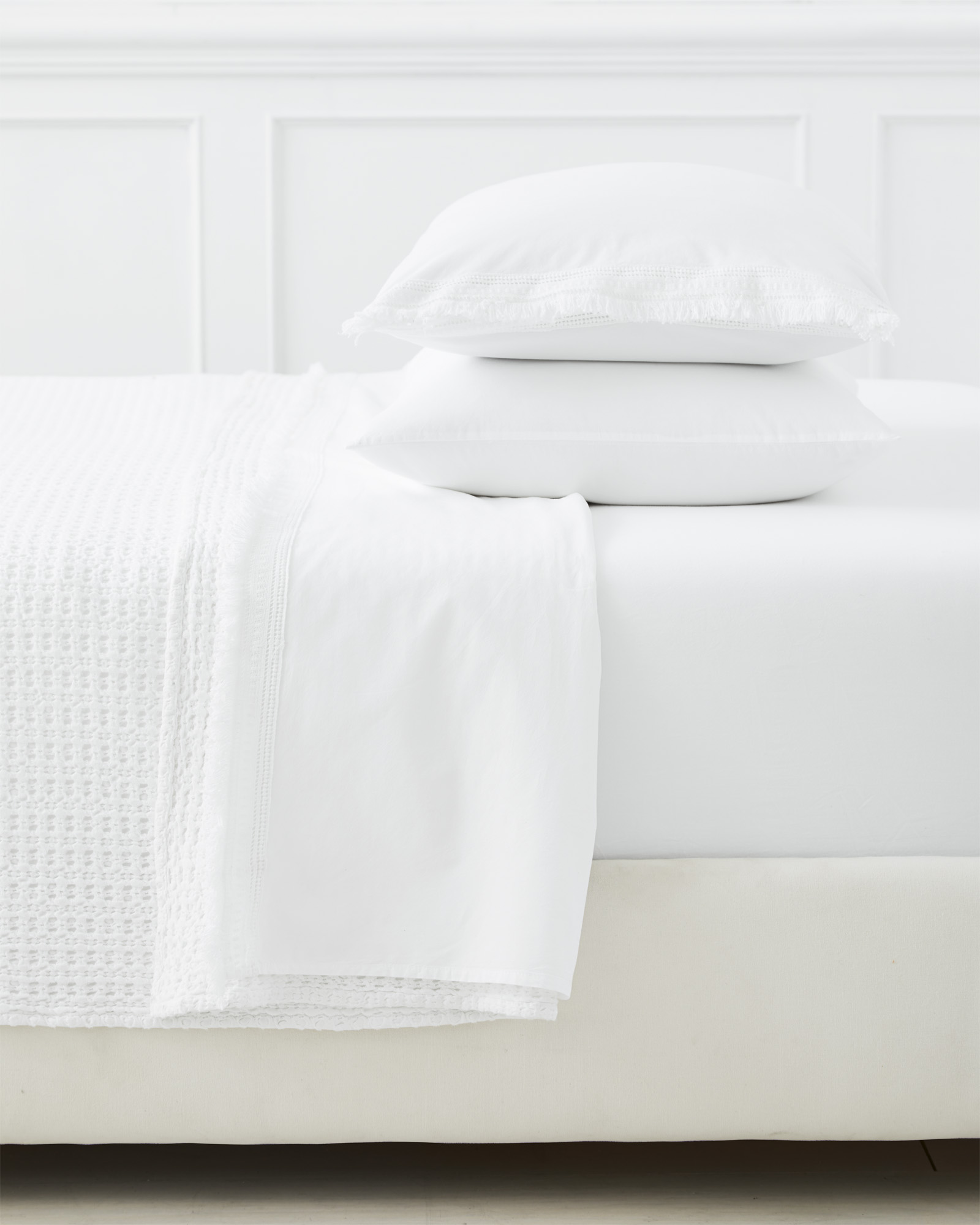 Solana Pillowcases (Extra Set of 2), White
