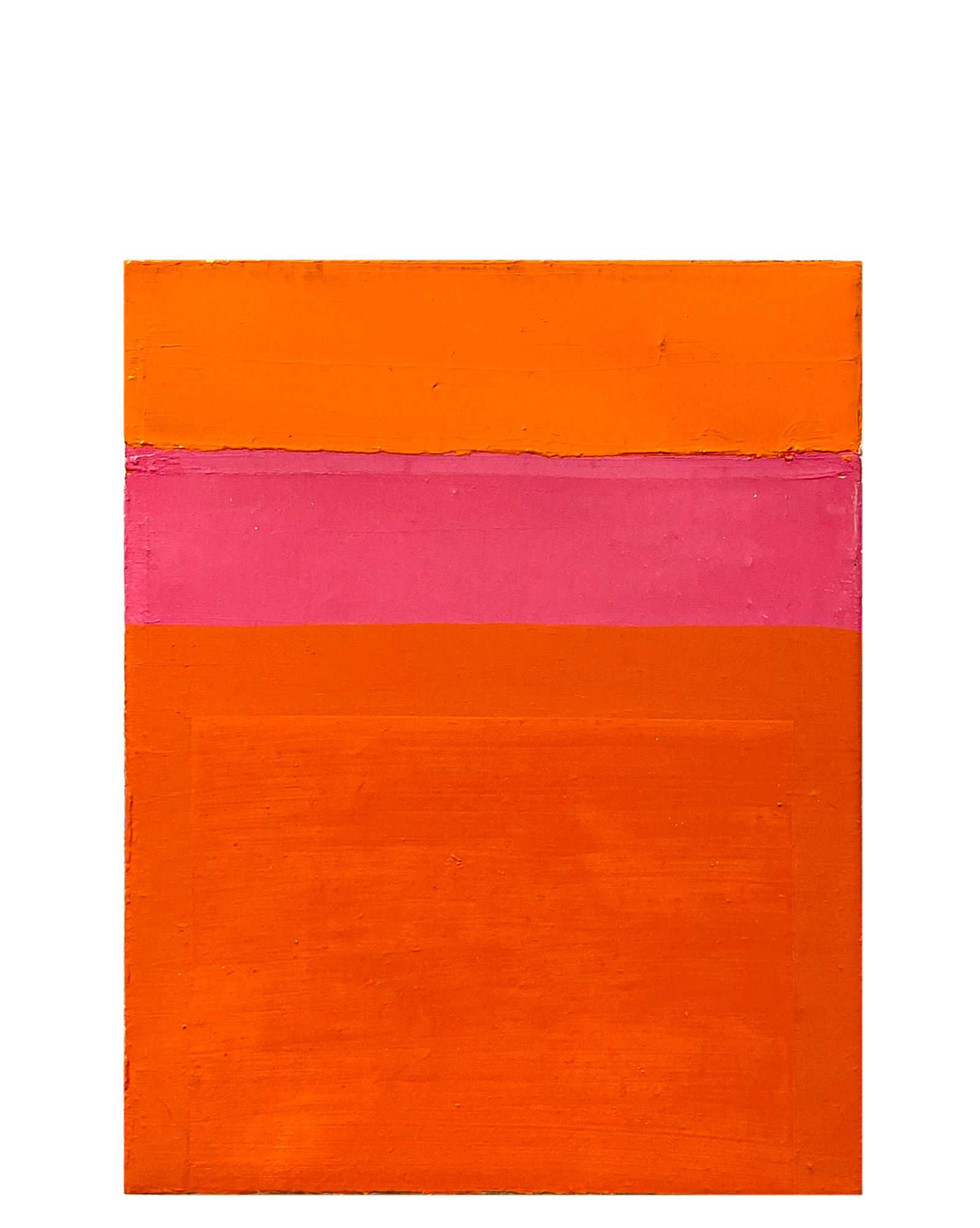 """Color Study, Pink and Orange"" by Laurie Fisher,"