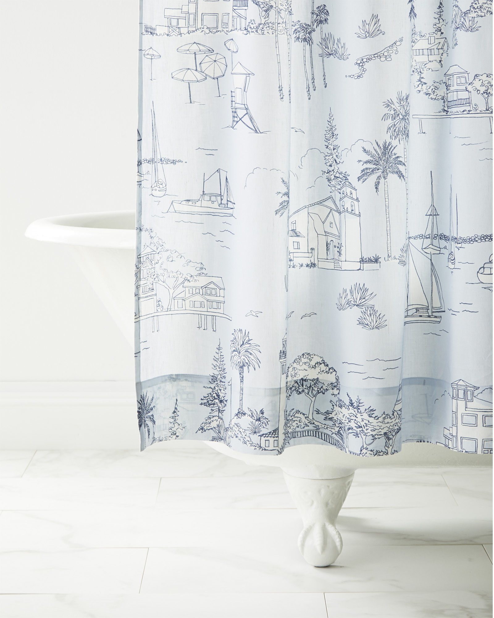 Westwind Shower Curtain,