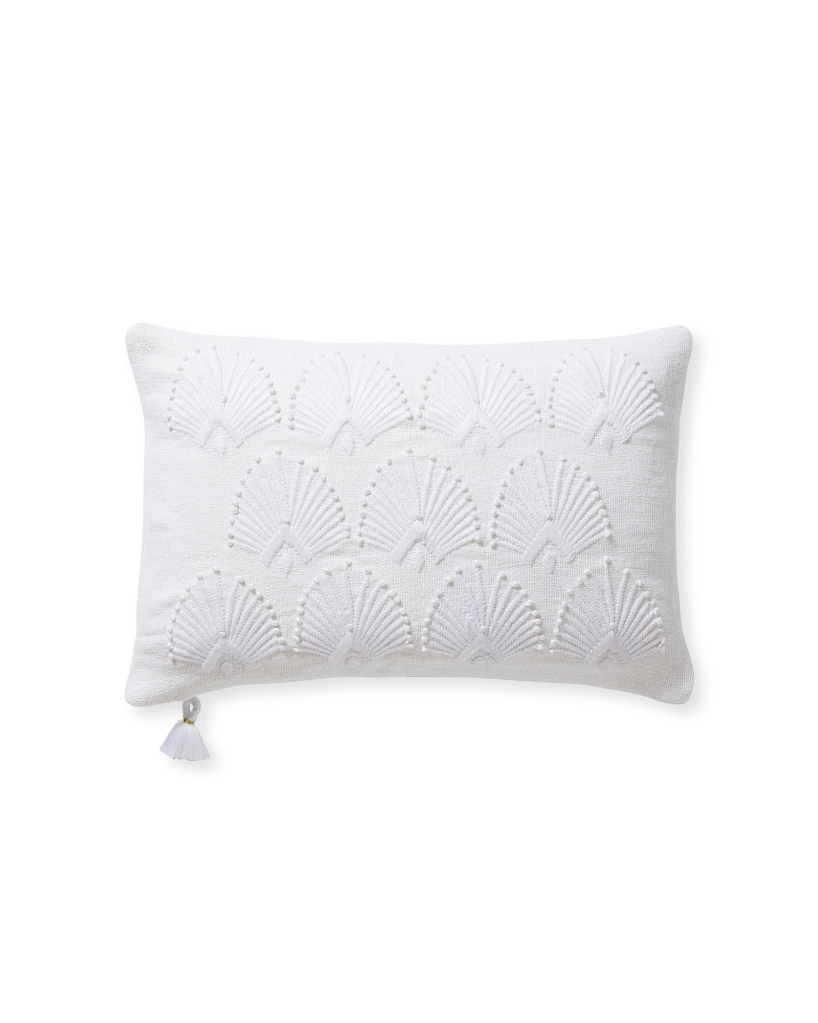Monarch Pillow Cover - White,