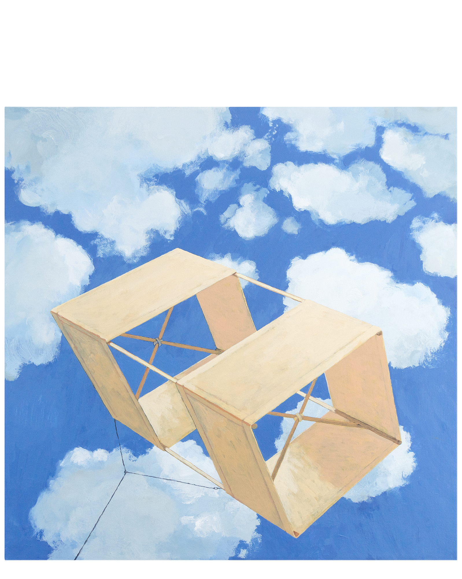 """Box kite"" by Jeremy Thornton,"