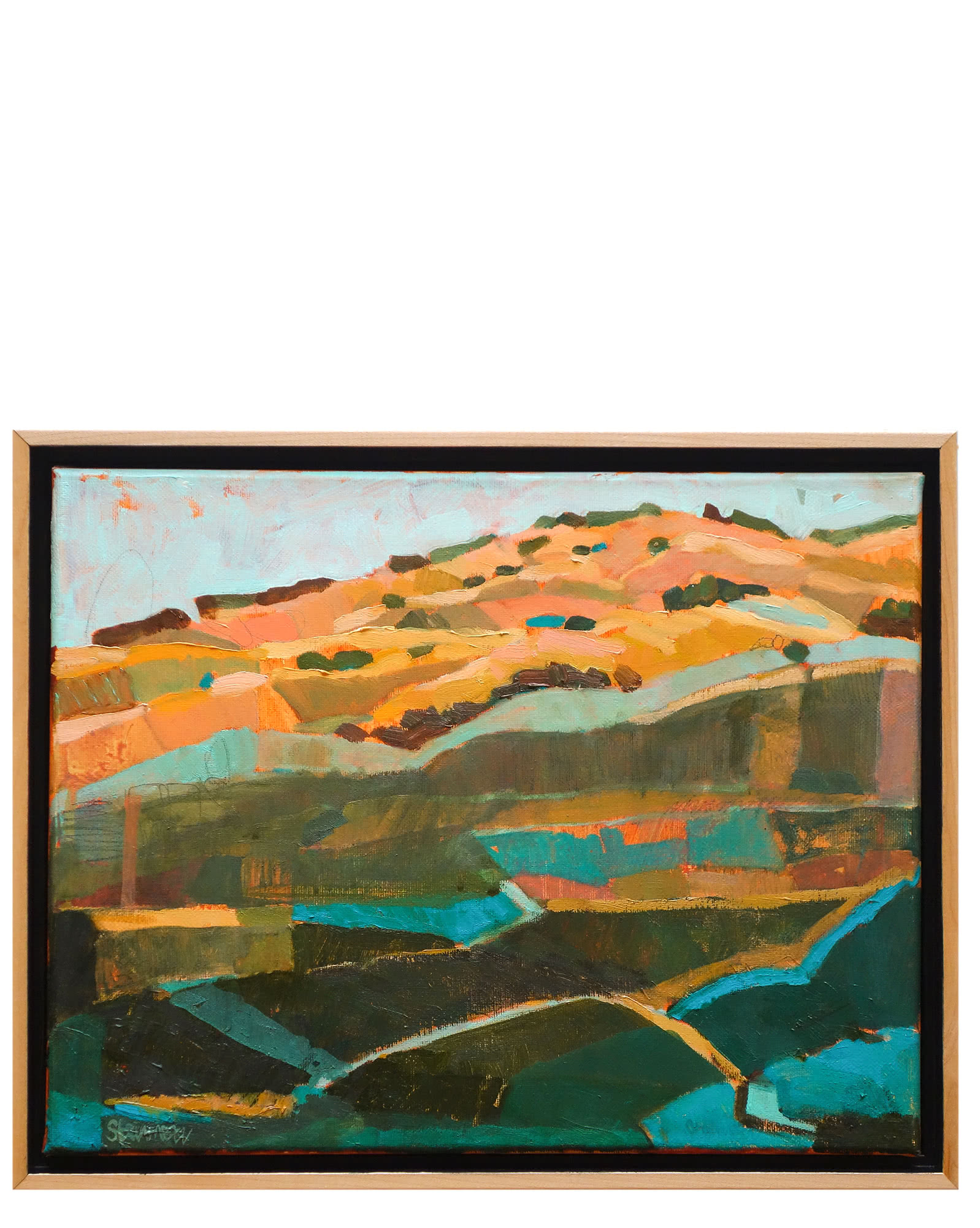 """Dreaming with Blue California Hills"" by Liana Steinmetz,"