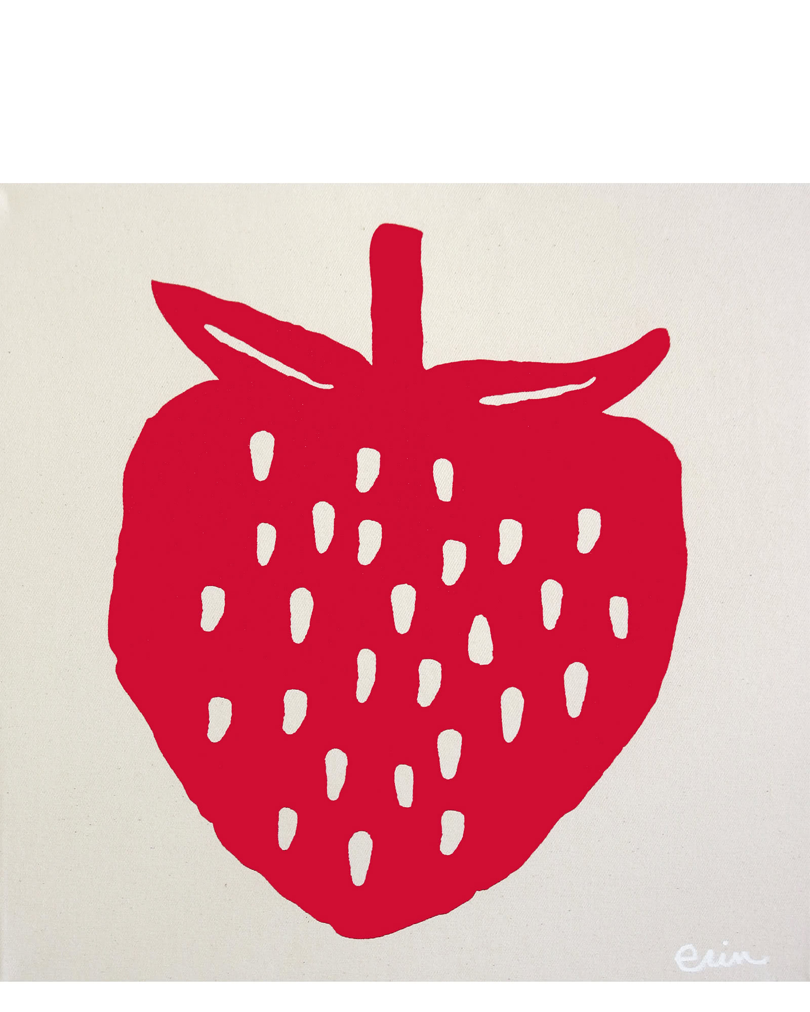 """Strawberry"" by Erin Flett,"