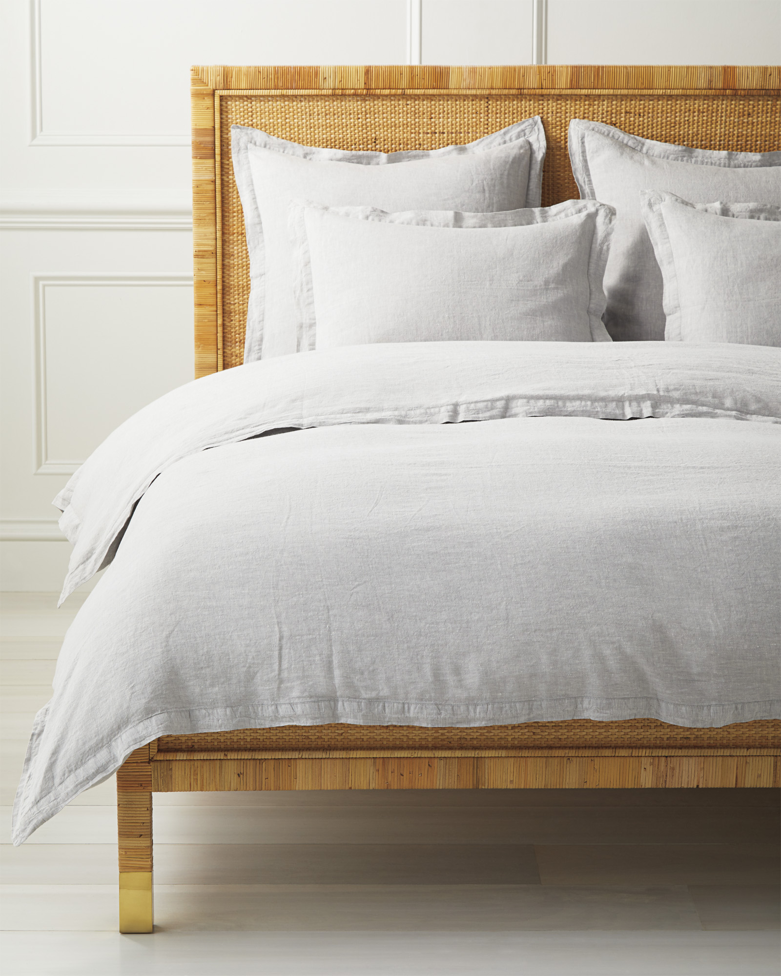 Cavallo Bedding Bundle, Smoke Chambray