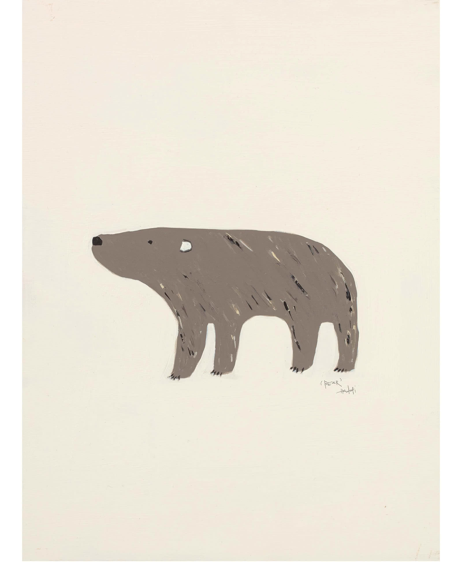 """Woodland Bear"" by Holly Addi,"