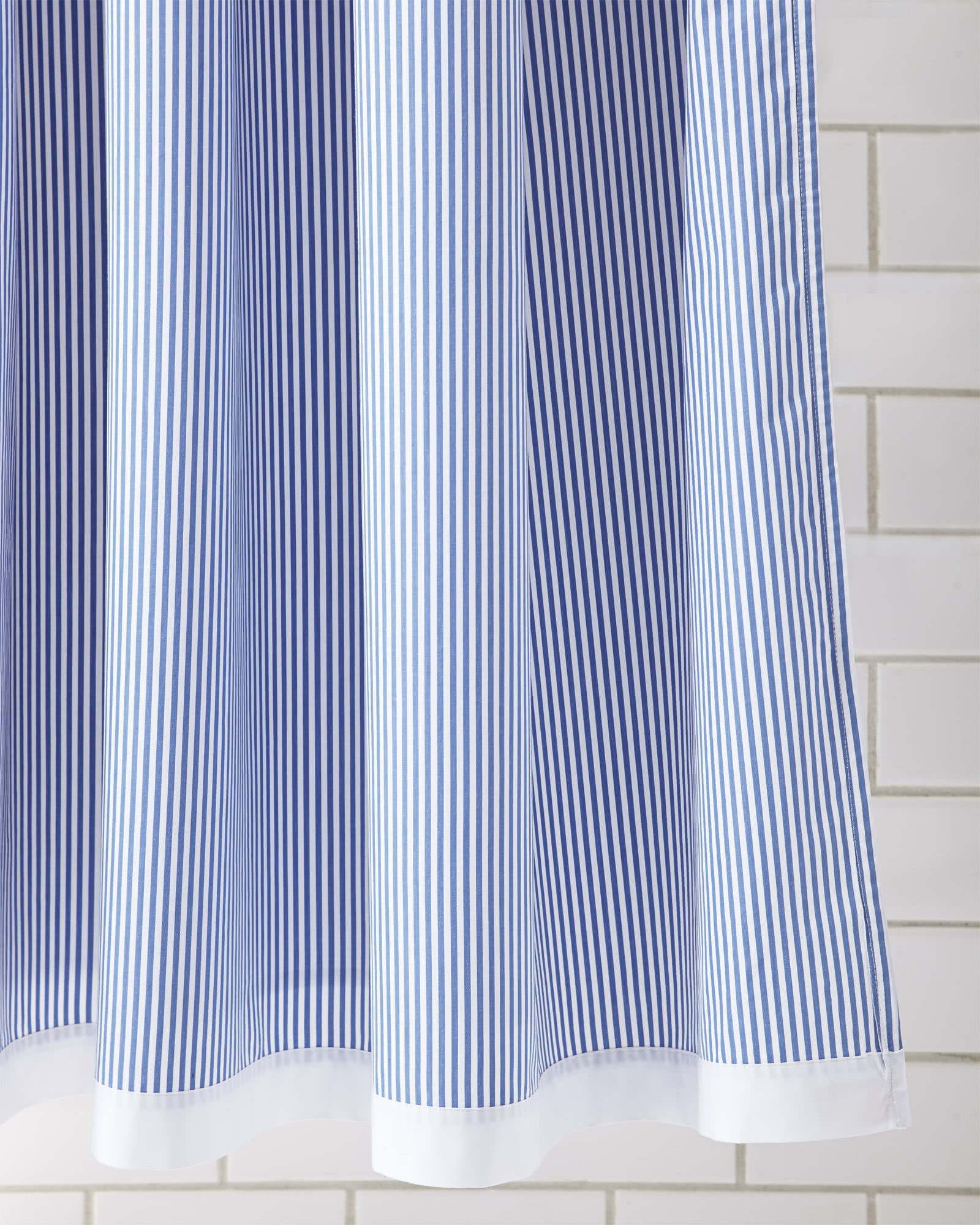Oxford Stripe Shower Curtain - Serena & Lily