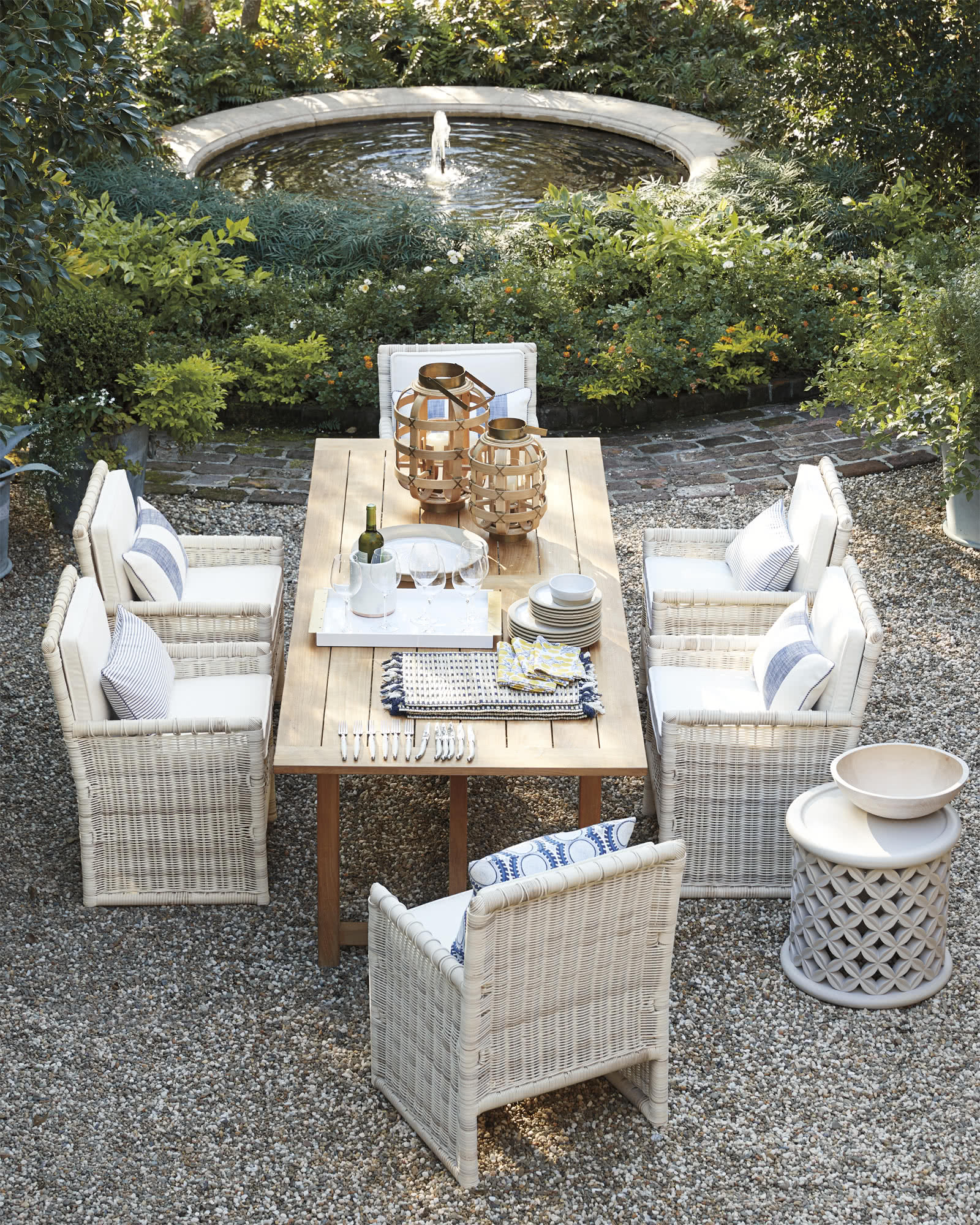 Pacifica Outdoor Dining Chair with Cushion