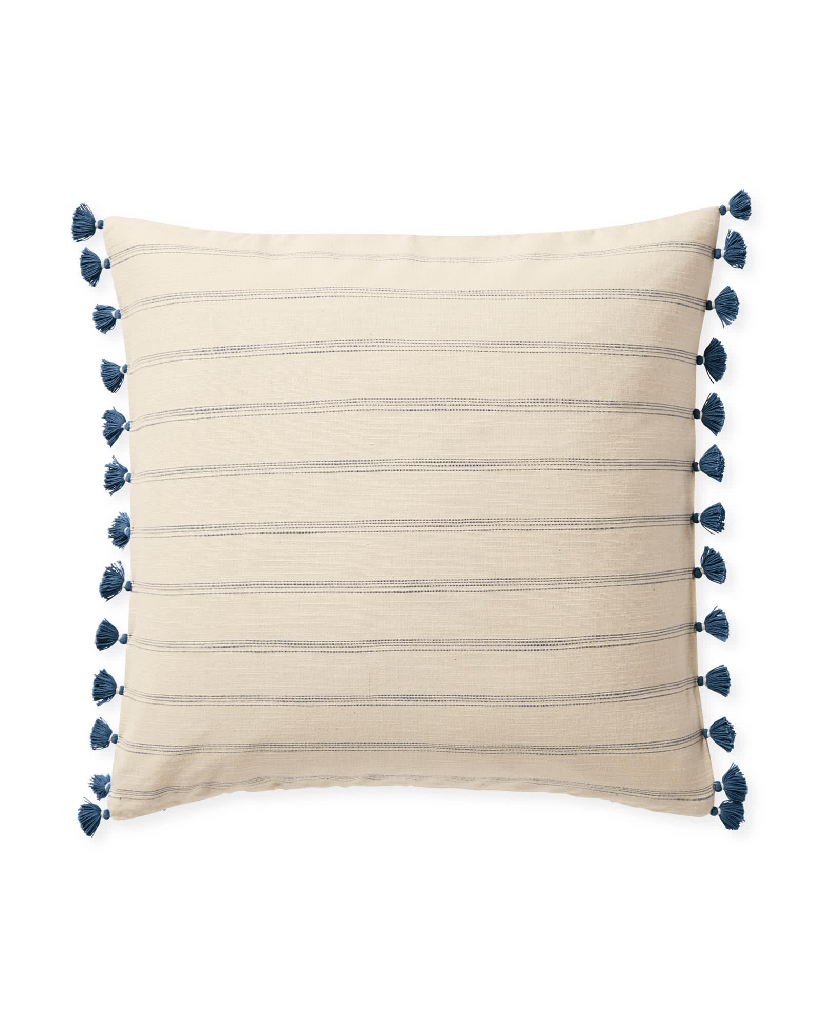 Alsworth Pillow Cover, Washed Indigo