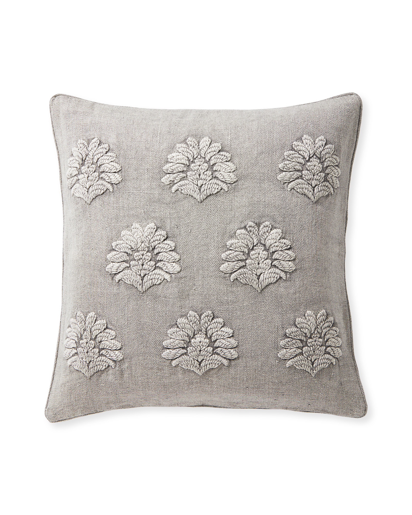 Miramonte Pillow Cover, Smoke