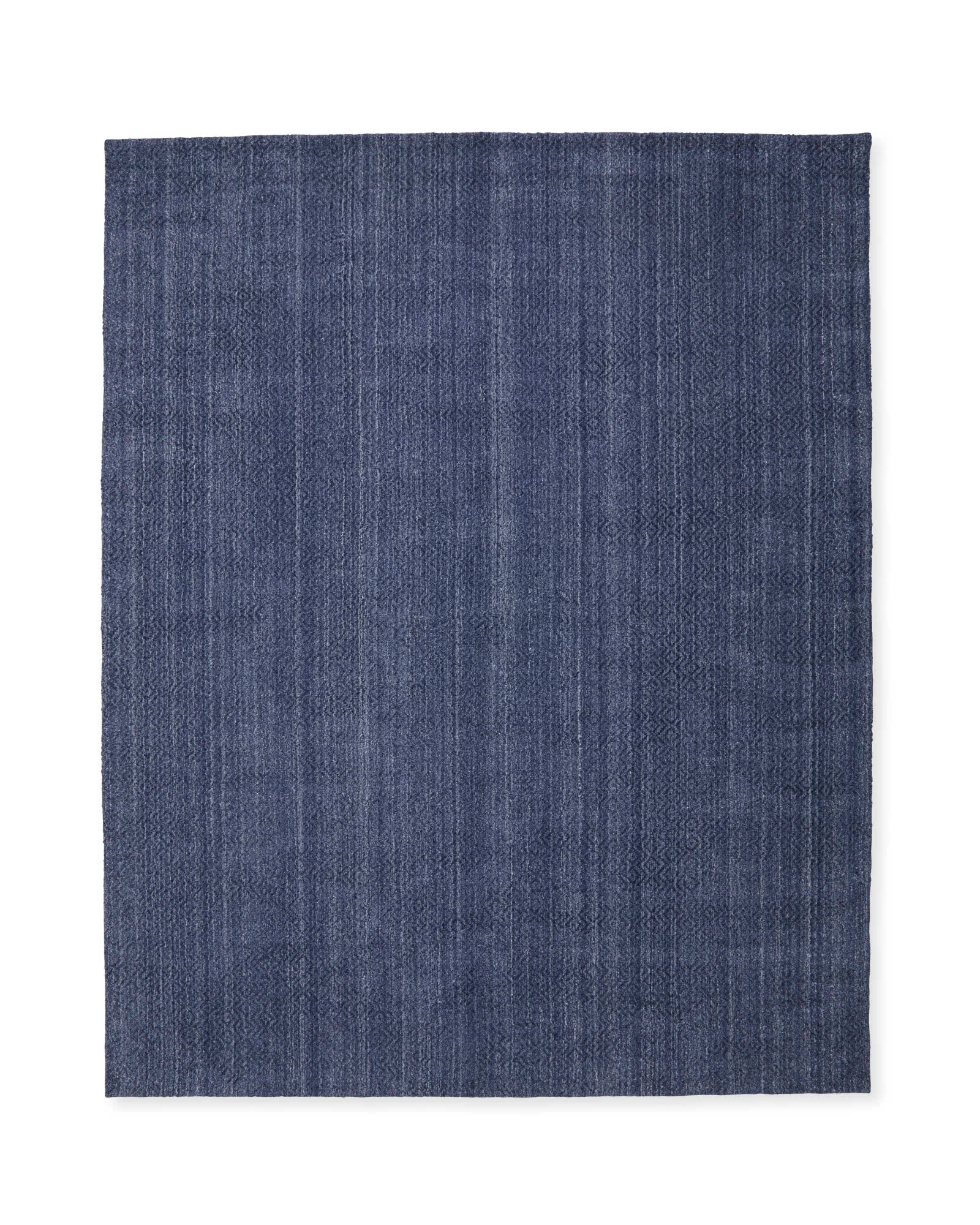 Rapallo Rug, Heathered Navy