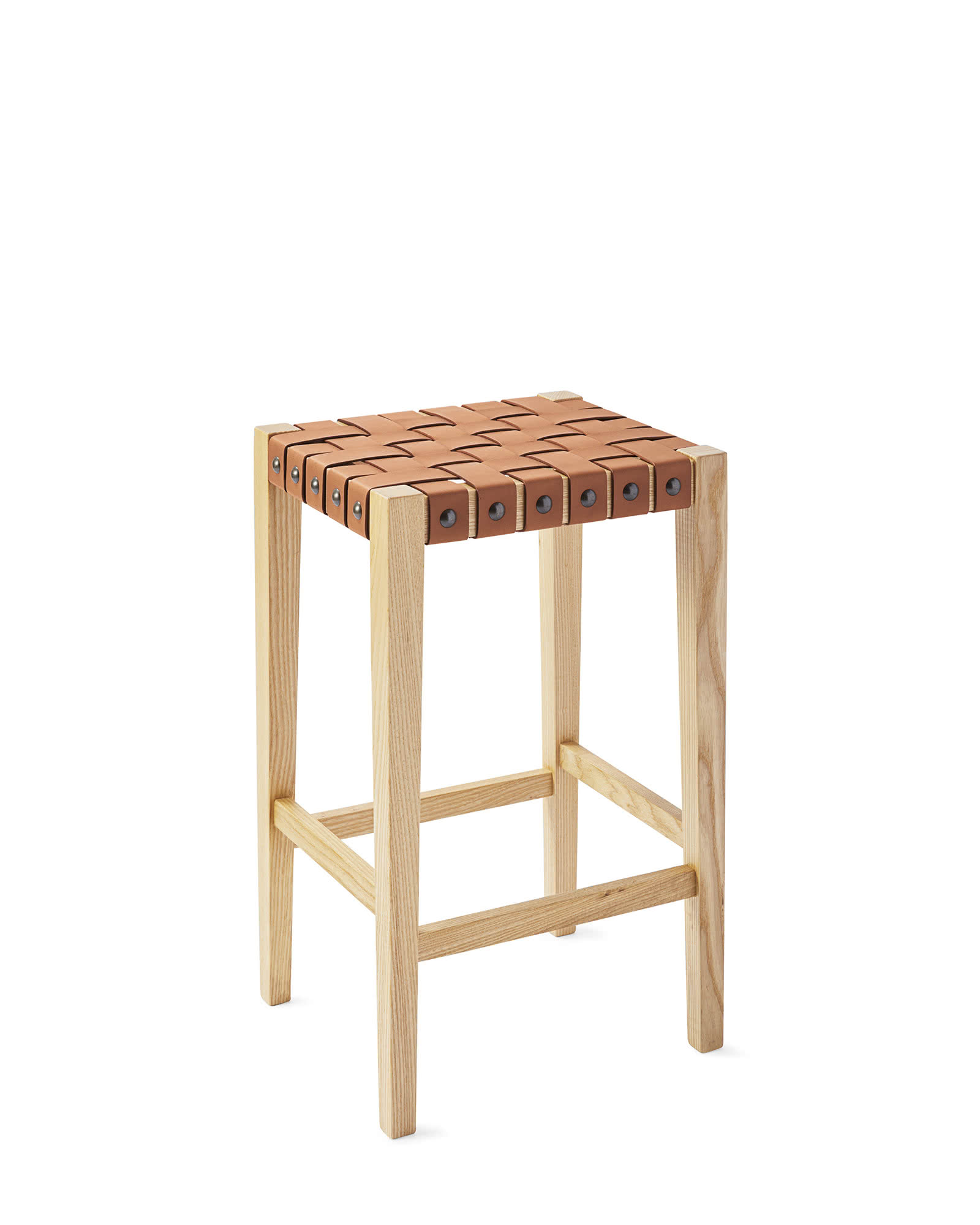 collins backless counter stool serena lily. Black Bedroom Furniture Sets. Home Design Ideas