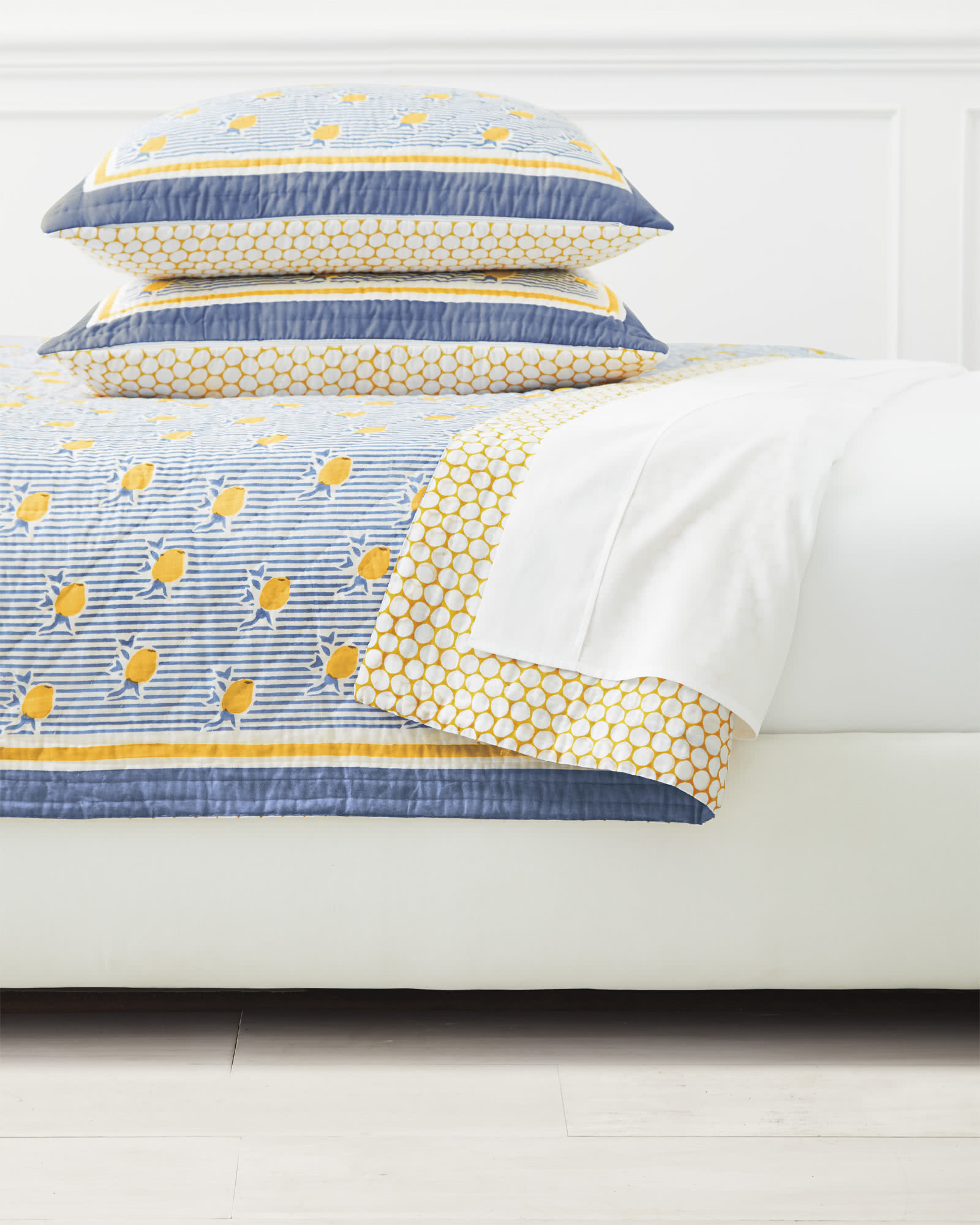 Positano Quilted Shams