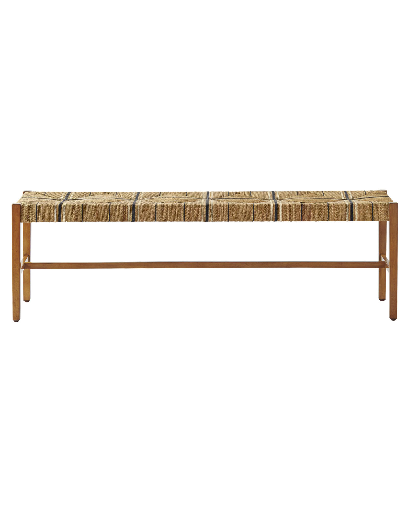 Carson Backless Bench, Natural