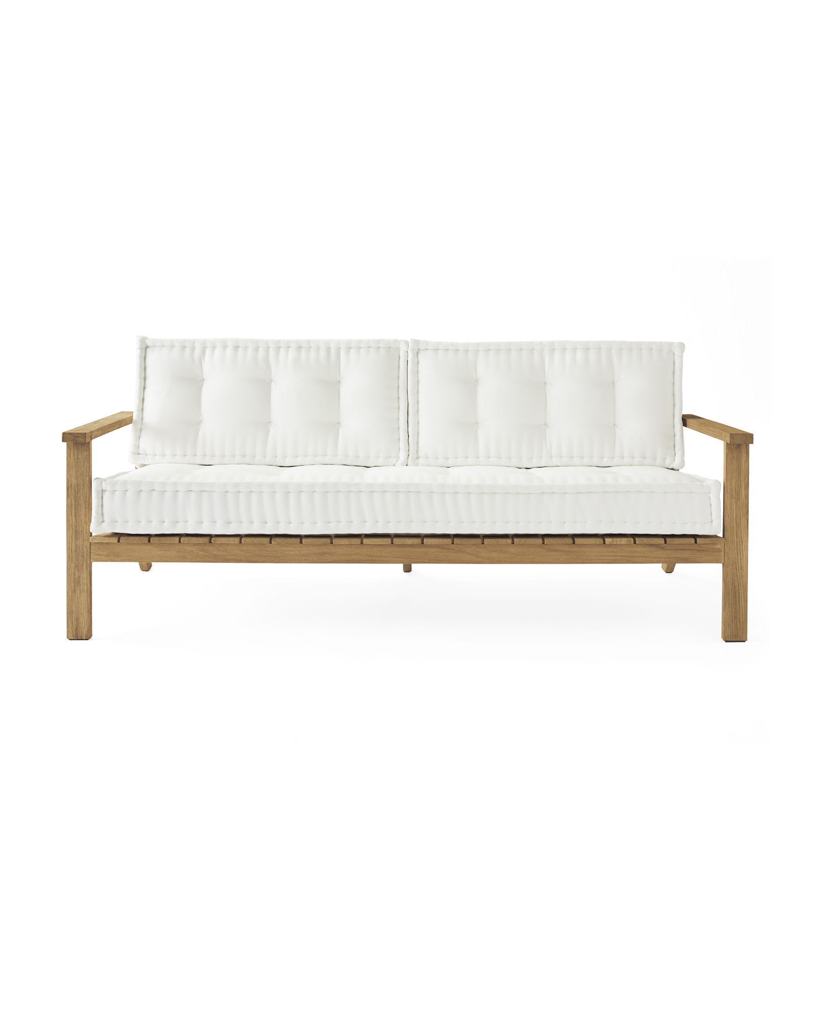 Cliffside Teak Sofa