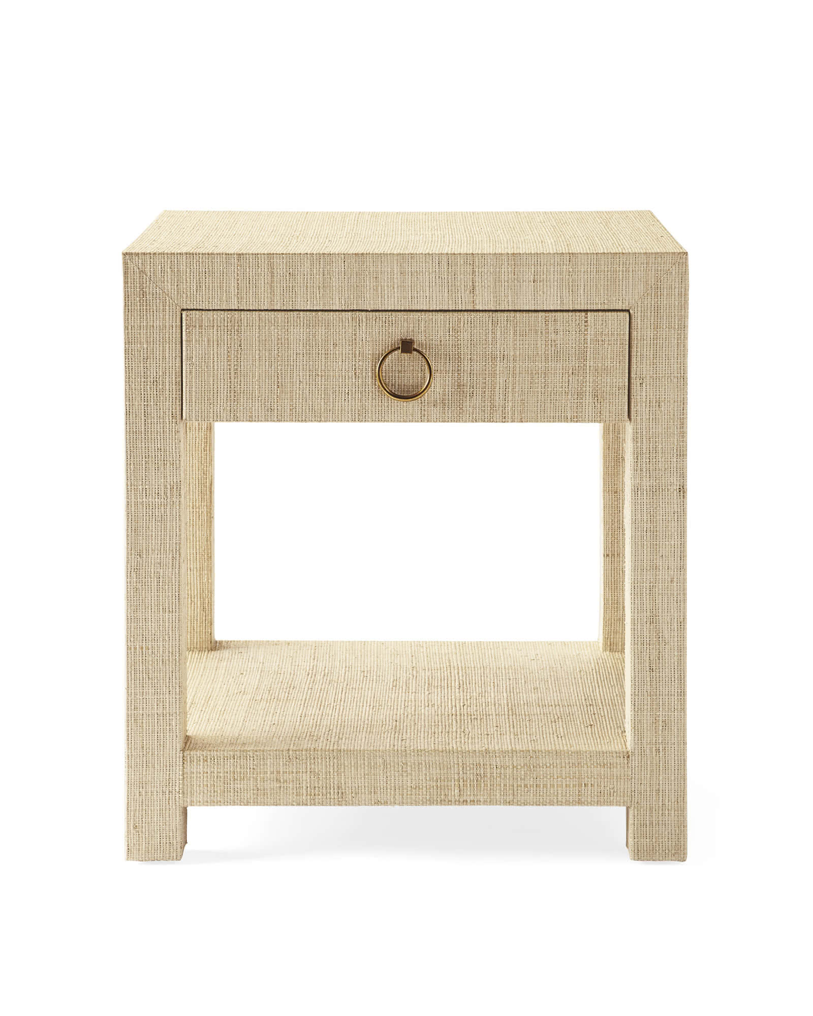 Blake 1-Drawer Nightstand, Natural