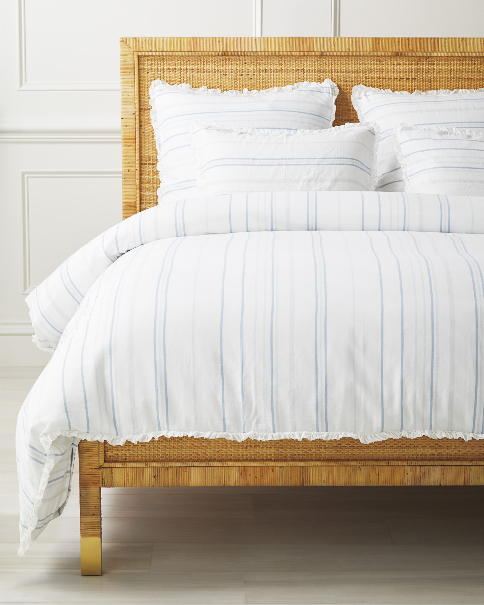 Oyster Bay Stripe Duvet Cover,
