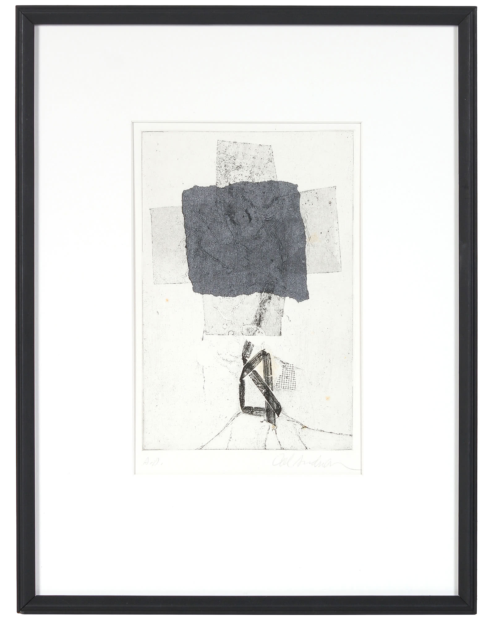 """""""Monochromatic Abstraction"""" by Calvin Anderson,"""