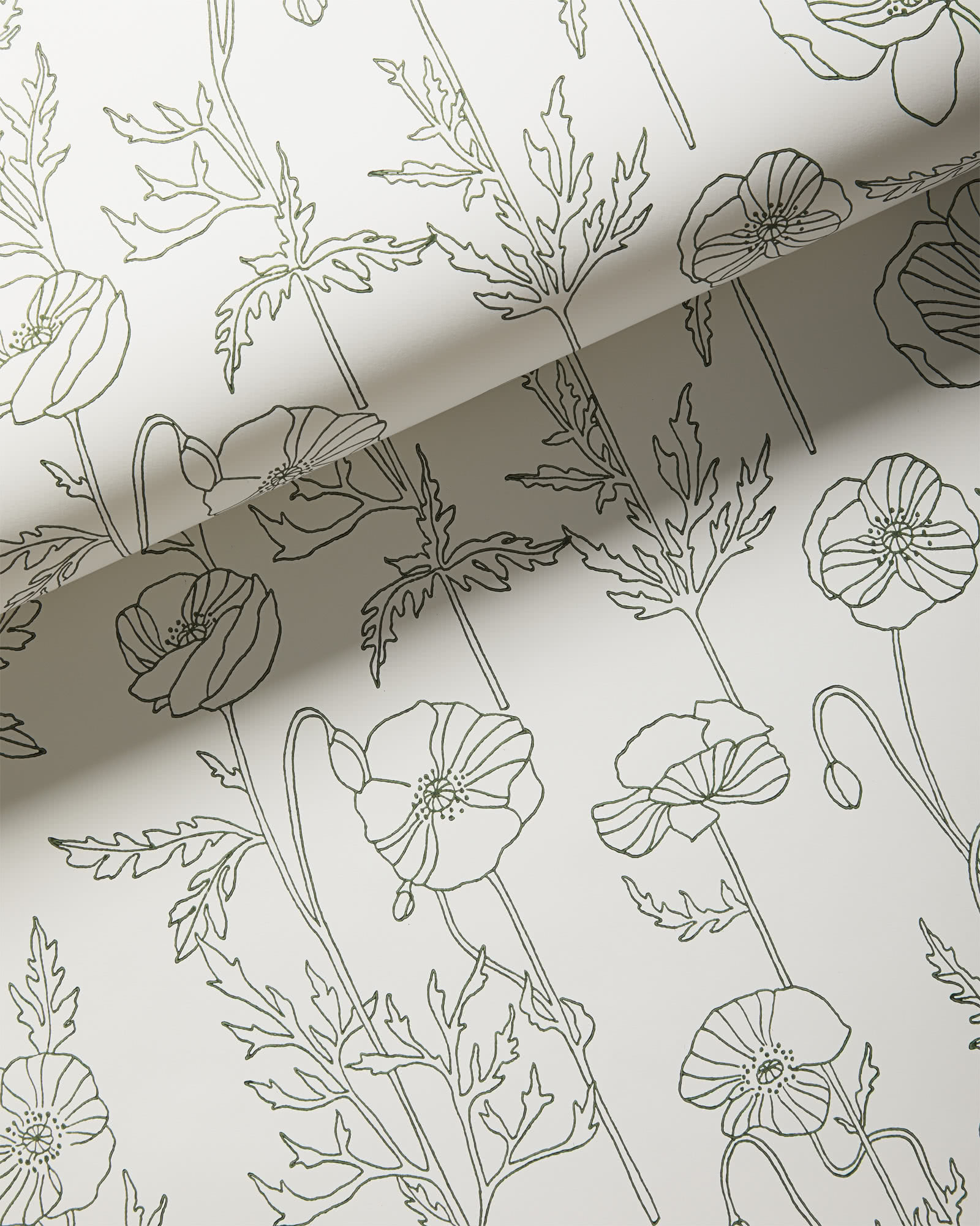 Summerside Wallpaper, Evergreen