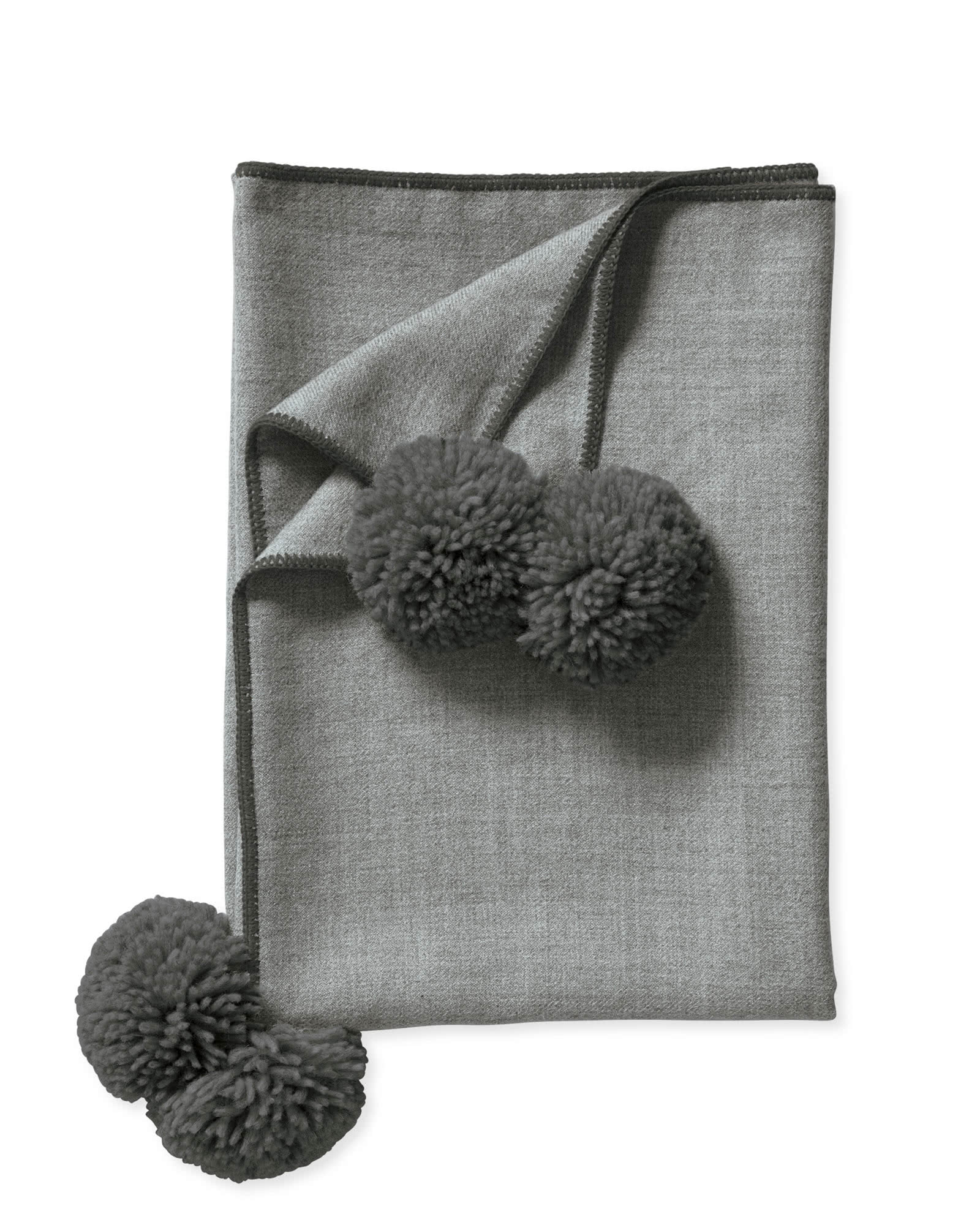 Adelaide Alpaca Throw, Grey/Pewter