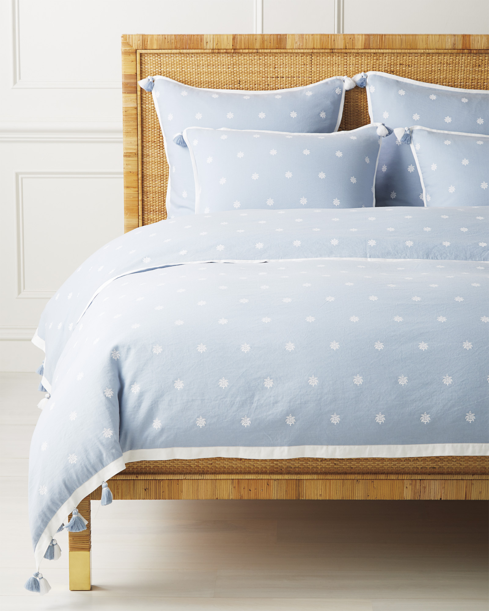 Saltspring Duvet Cover, Coastal Blue