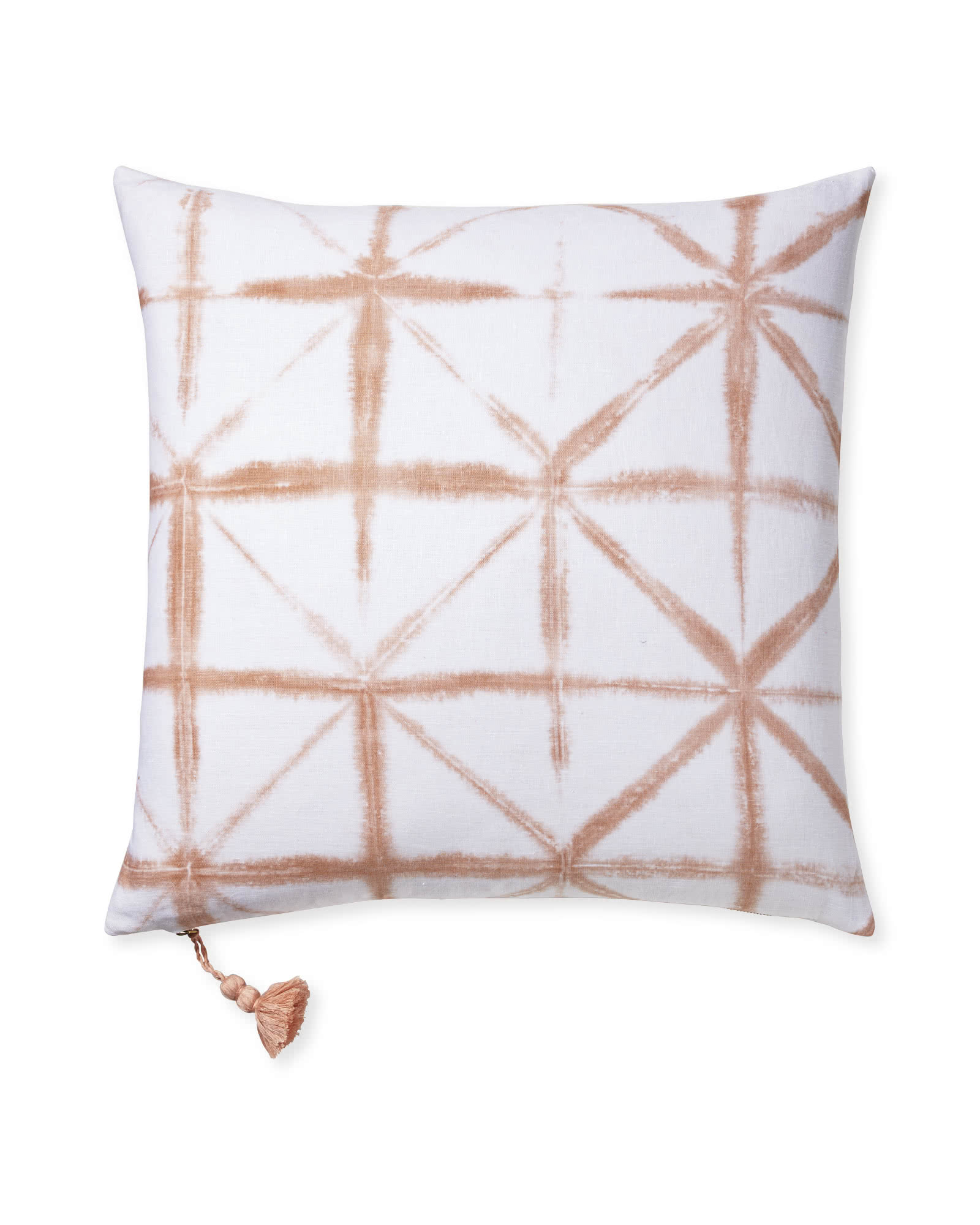 Starburst Pillow Cover, Pink Sand