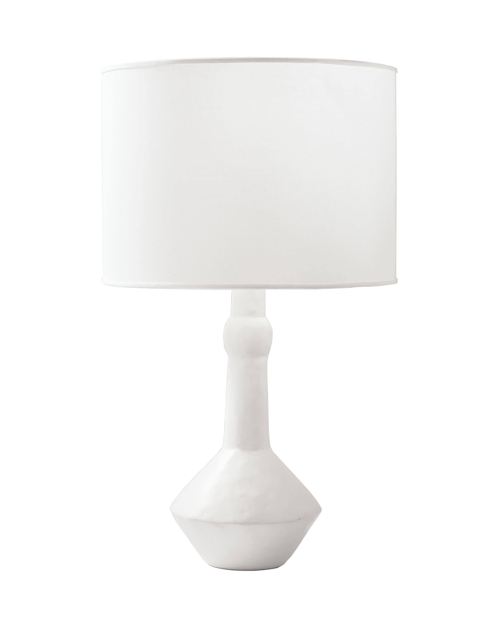 Large Brighton Table Lamp, White