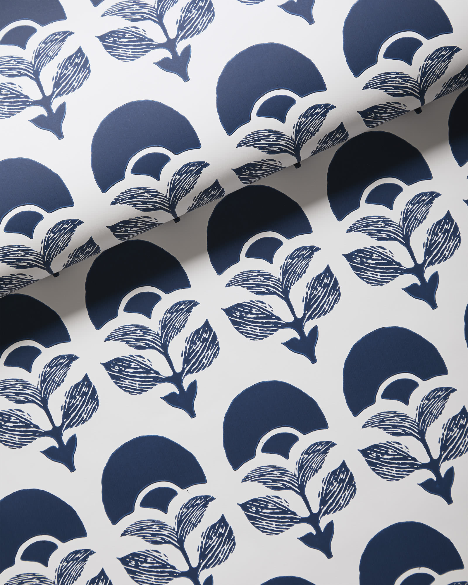 Larkspur Wallpaper, Midnight