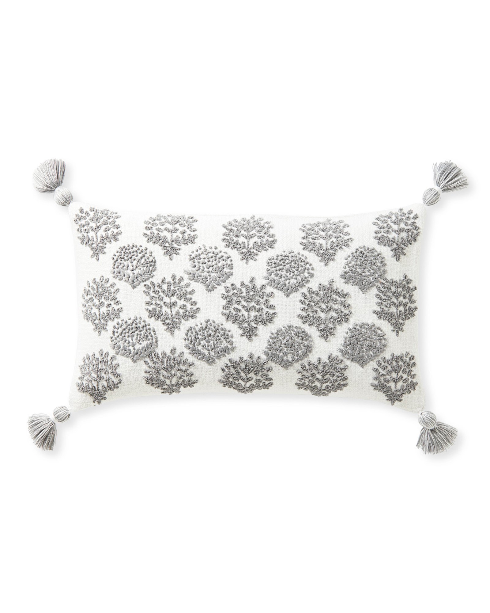 Oakview Pillow Cover, Smoke