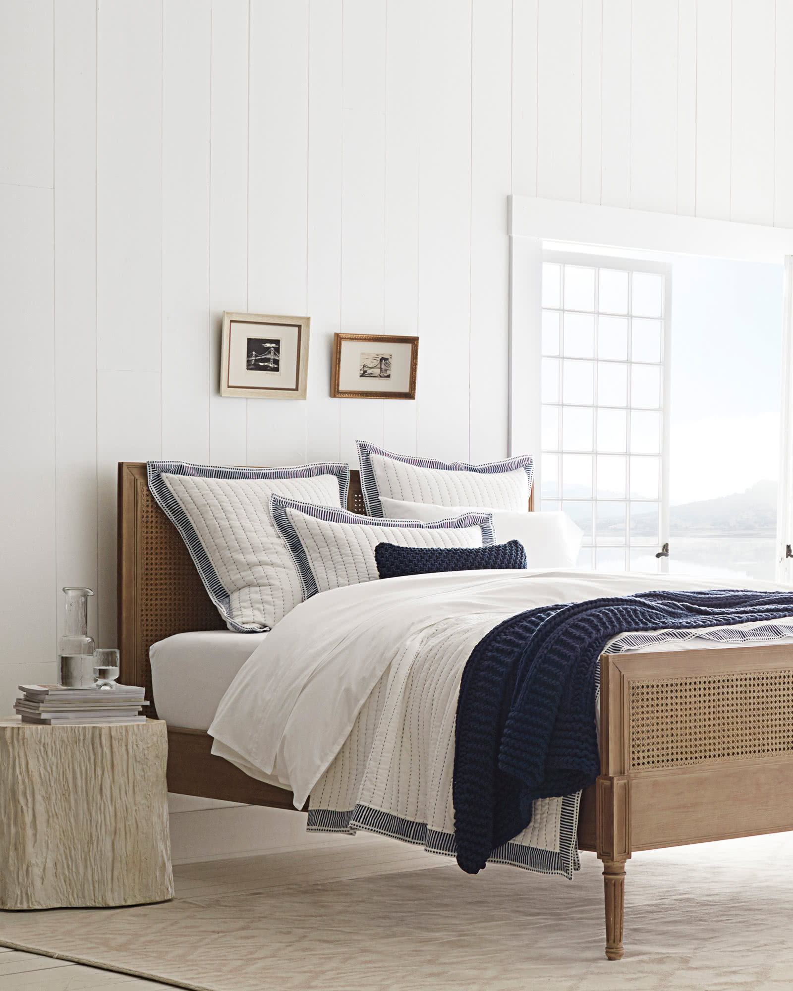 Harbour Cane Bed - Beds & Headboards