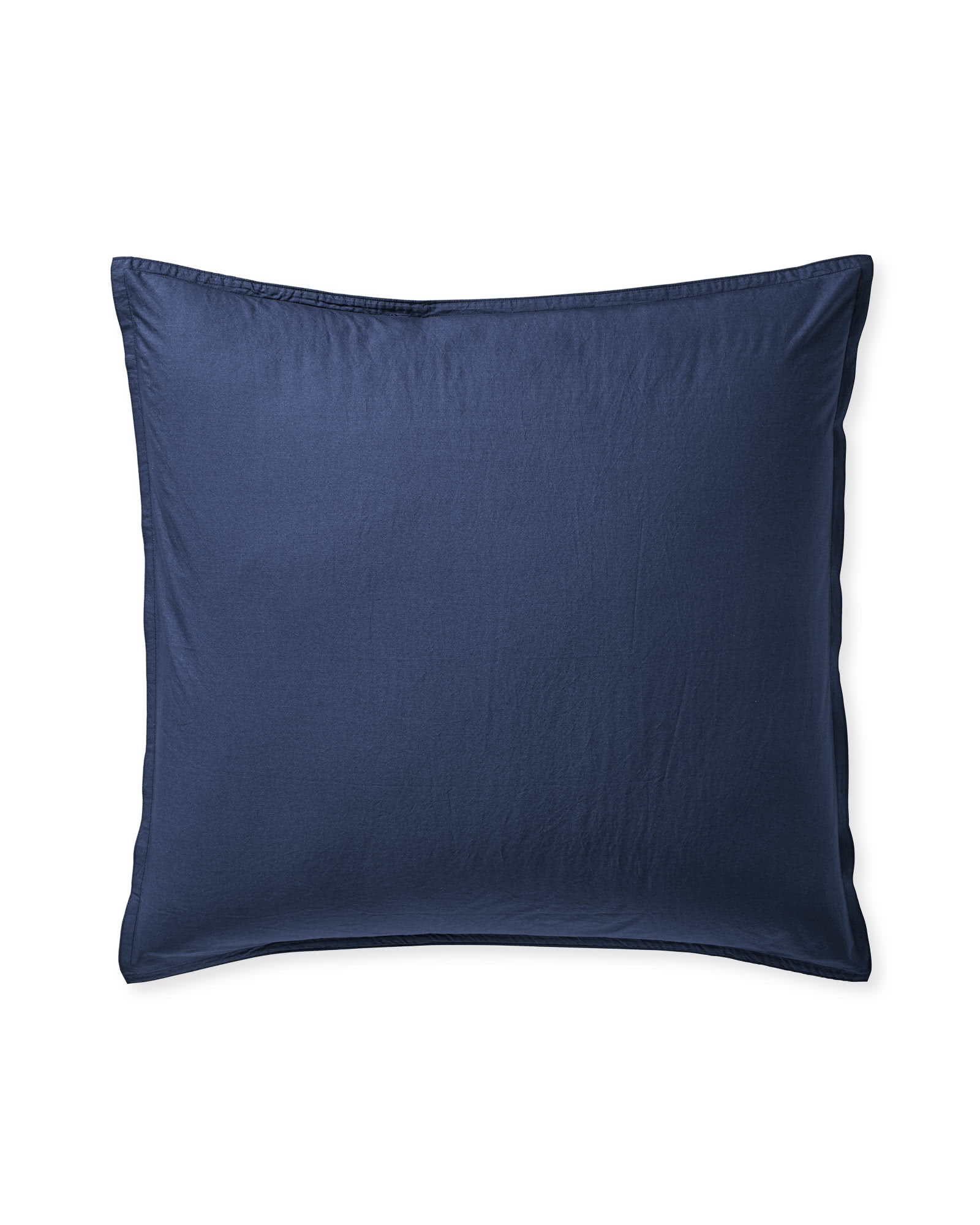 Portofino Percale Shams, Navy