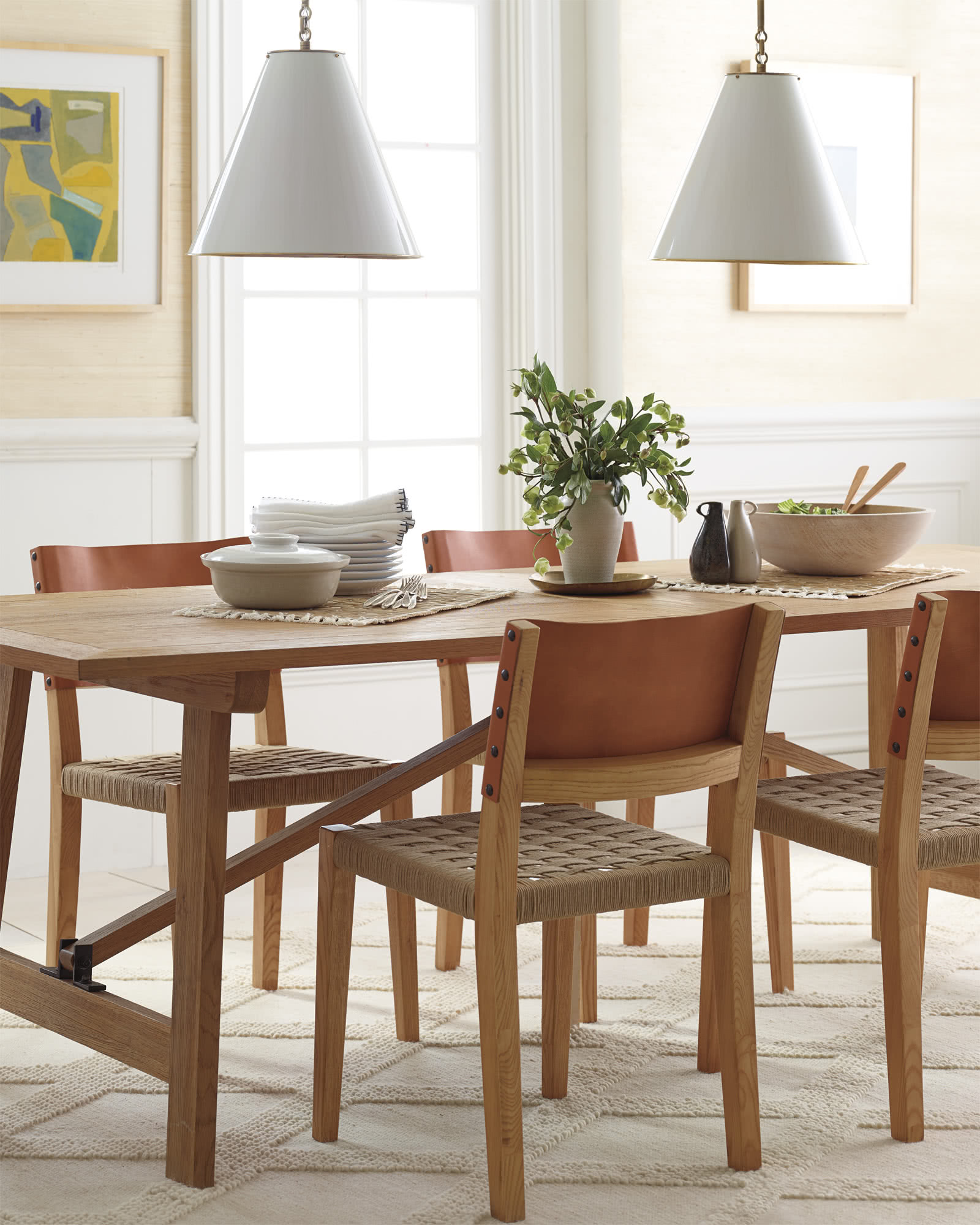 Crosby Teak Dining Table Tables
