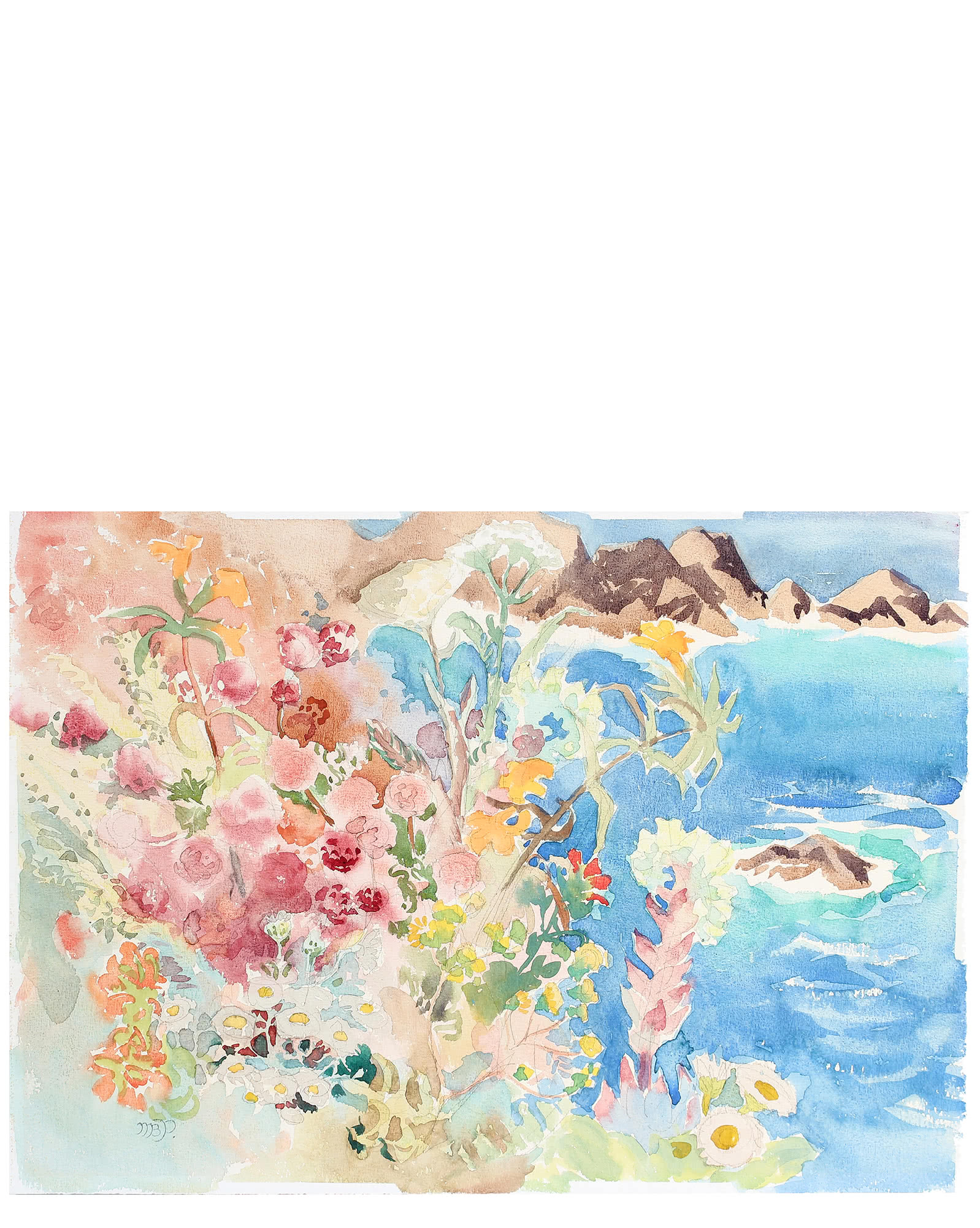 """Costal Bloom"" by Mary Pomeroy,"