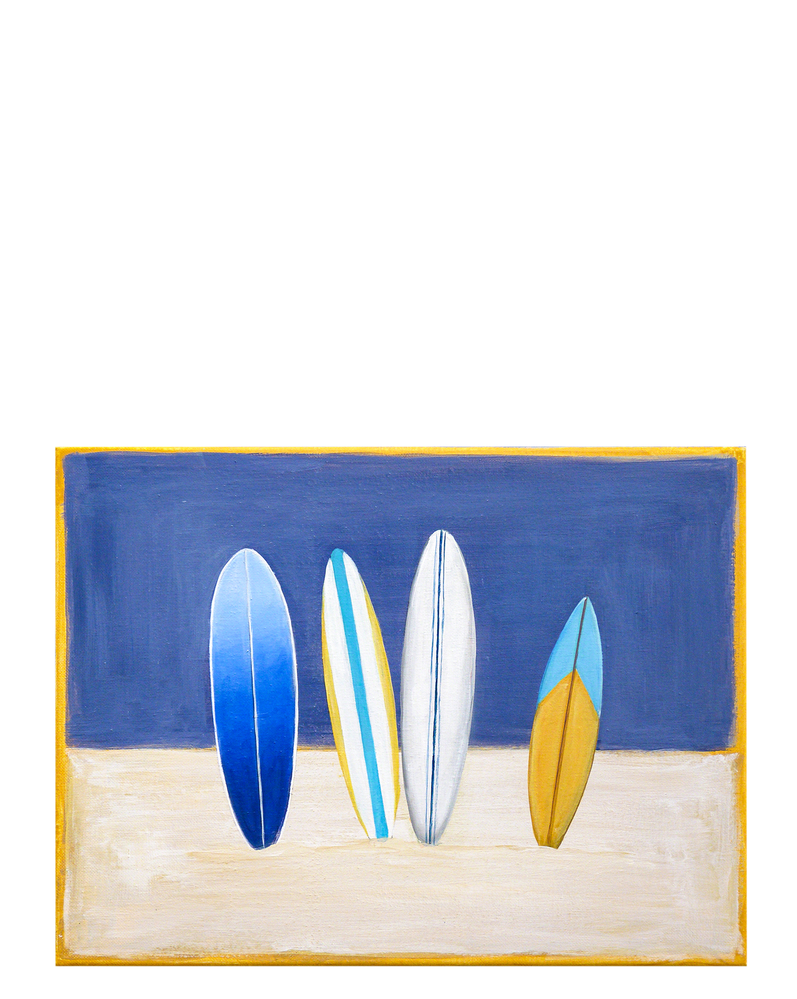 """"""" Surfboards"""" by Carol Saxe,"""