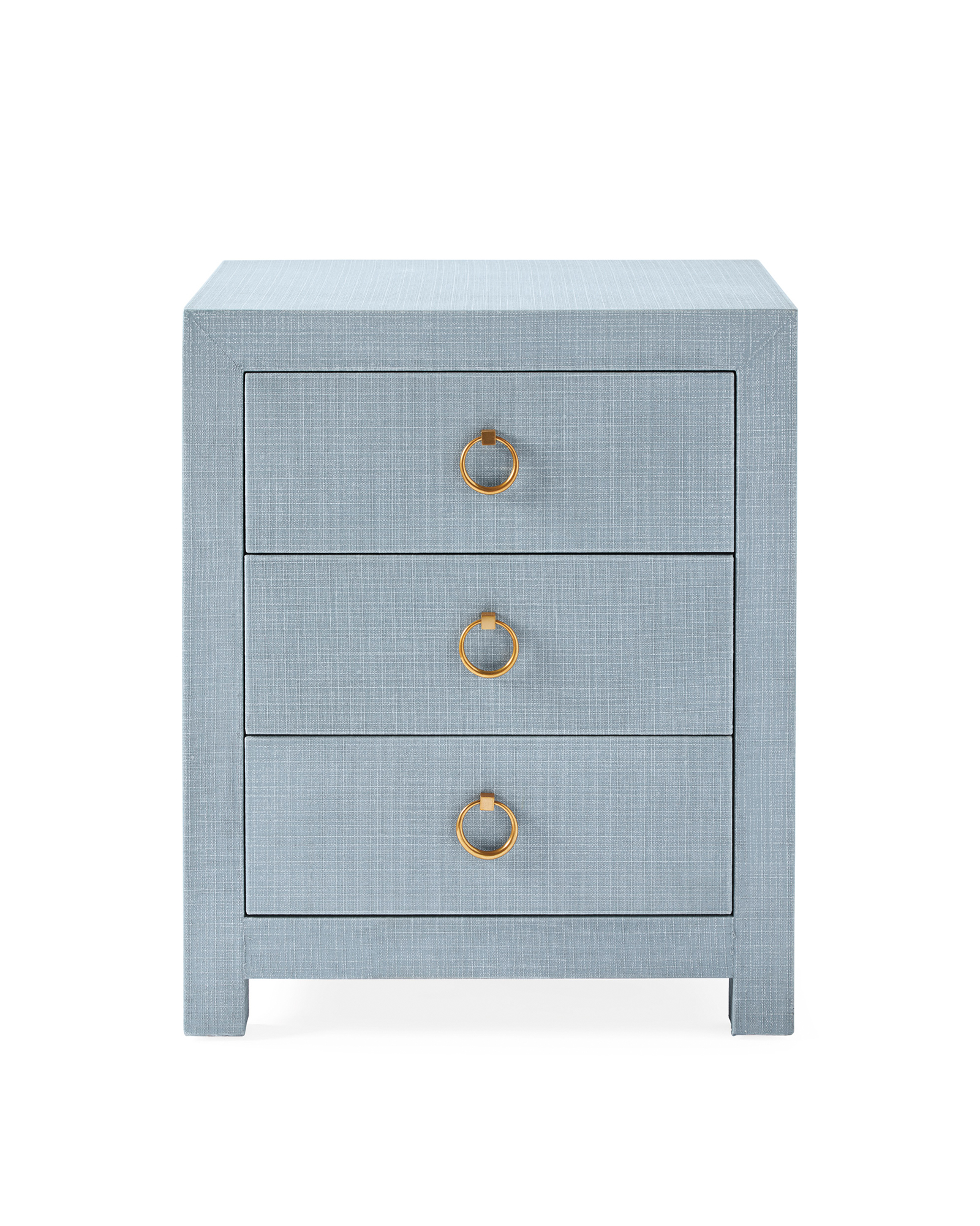 Driftway 3-Drawer Nightstand, Coastal Blue