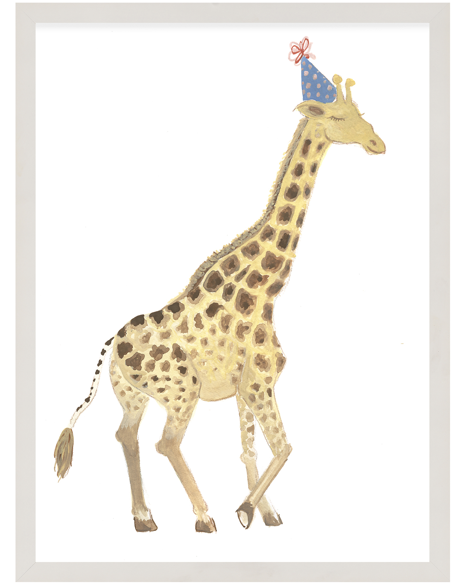 """""""Party Animals - Giraffe"""" by Fours Are Yellow ,"""